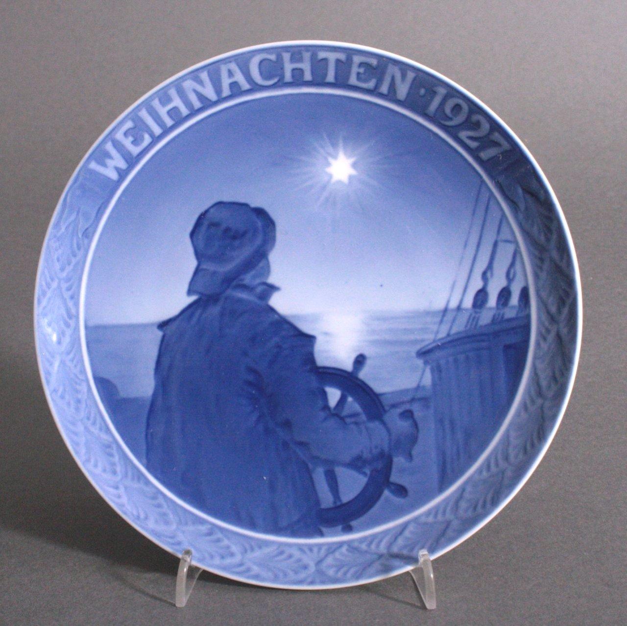 Weihnachtsteller Copenhagen 1939, Seefahrer