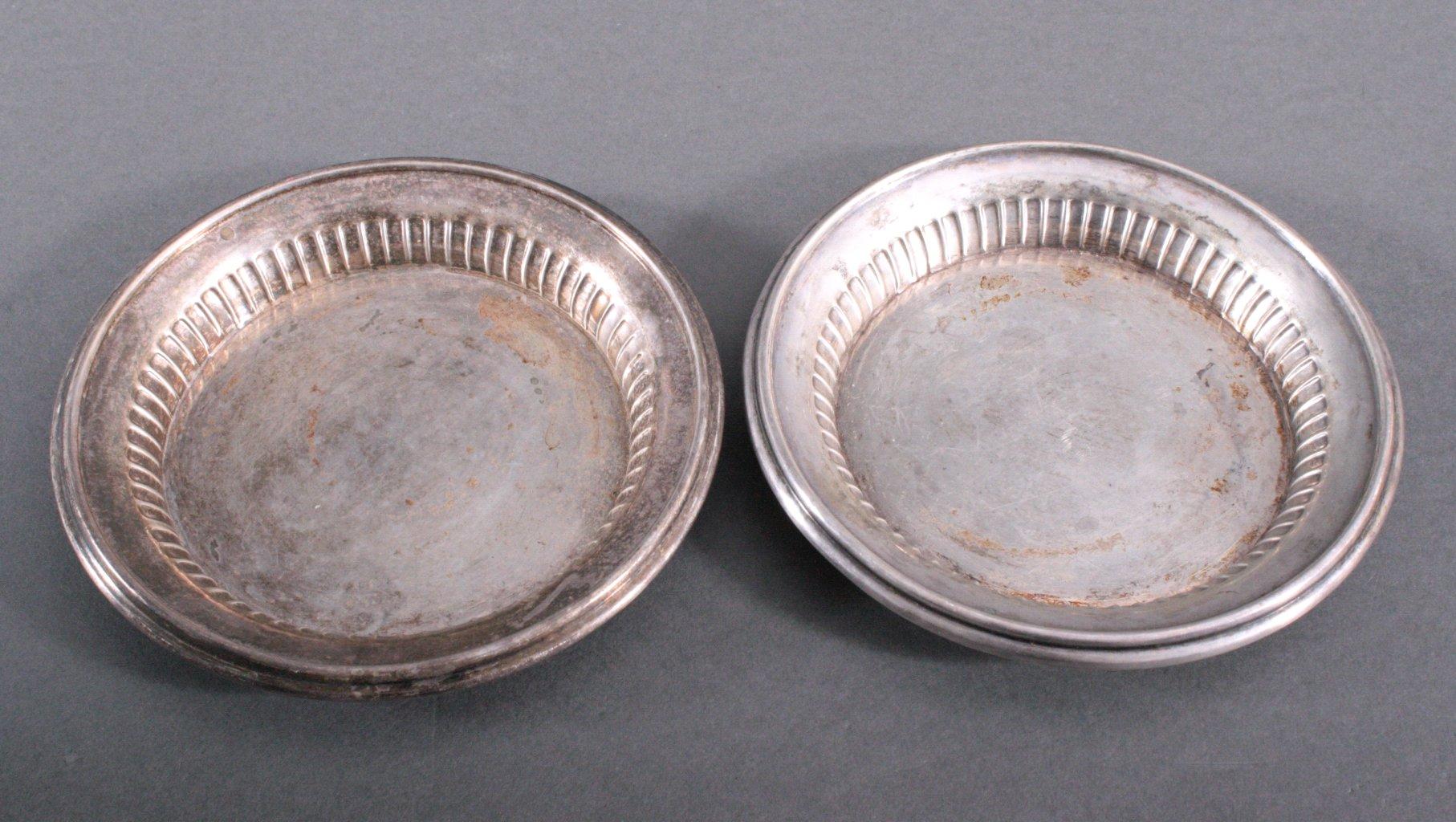 3 Silberschalen, 800er Silber