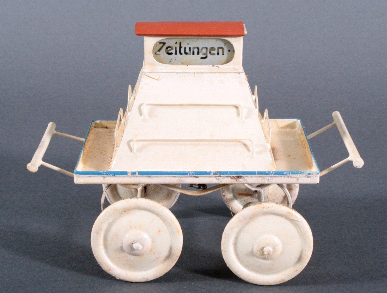 Märklin Bahnsteig Zeitungswagen, Spur 0