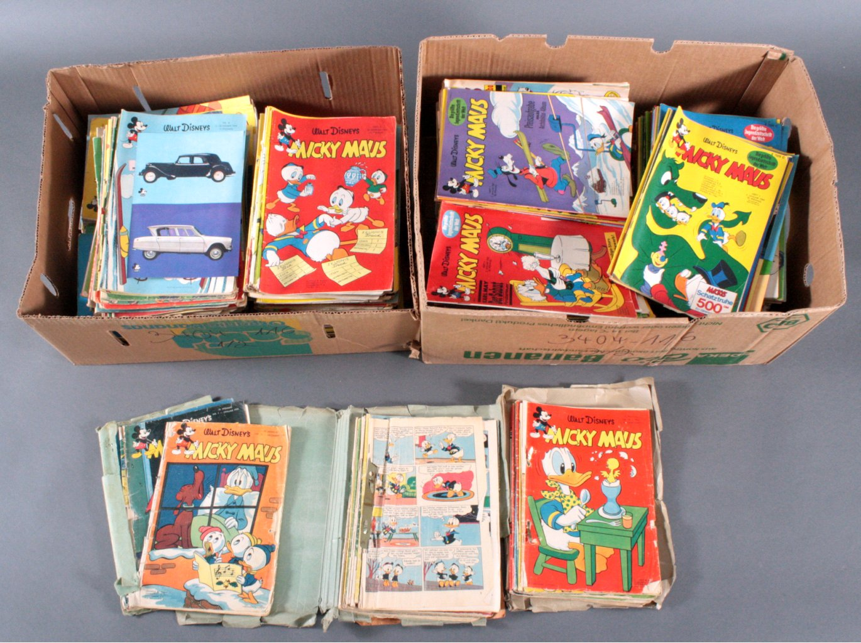 Über 450 Micky Maus Comics