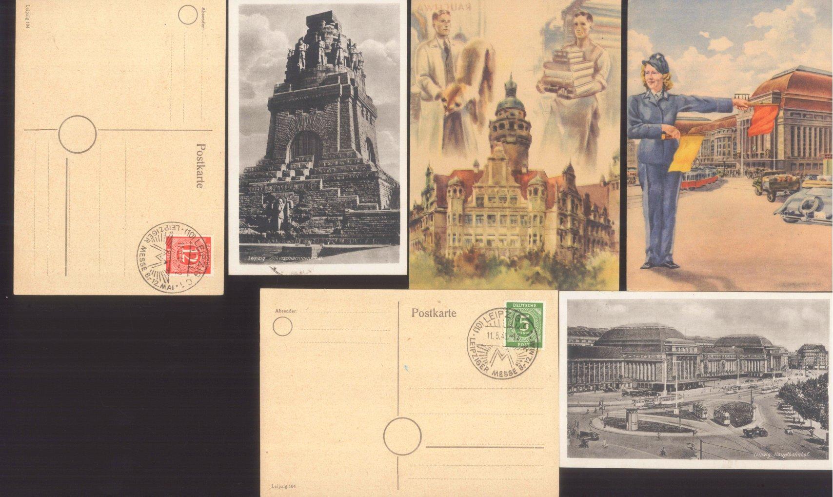 MOTIV LEIPZIGER MESSE 1946