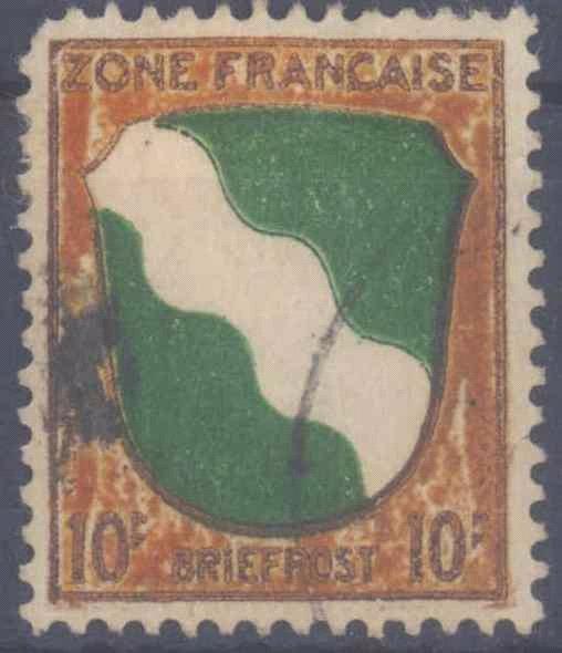 FRANZÖSISCHE ZONE, Allgemeine Ausgaben 1945