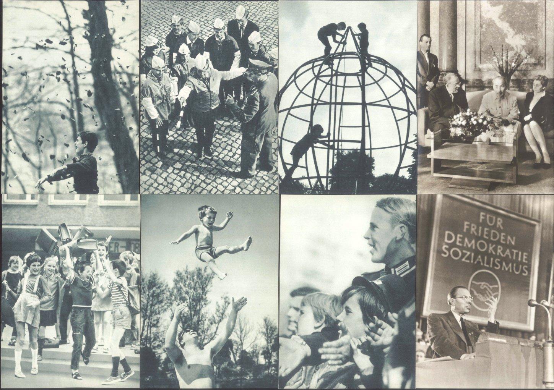 """ANSICHTSKARTEN DDR PROPAGANDA """"Kinder"""" und """"Grotewohl""""-2"""