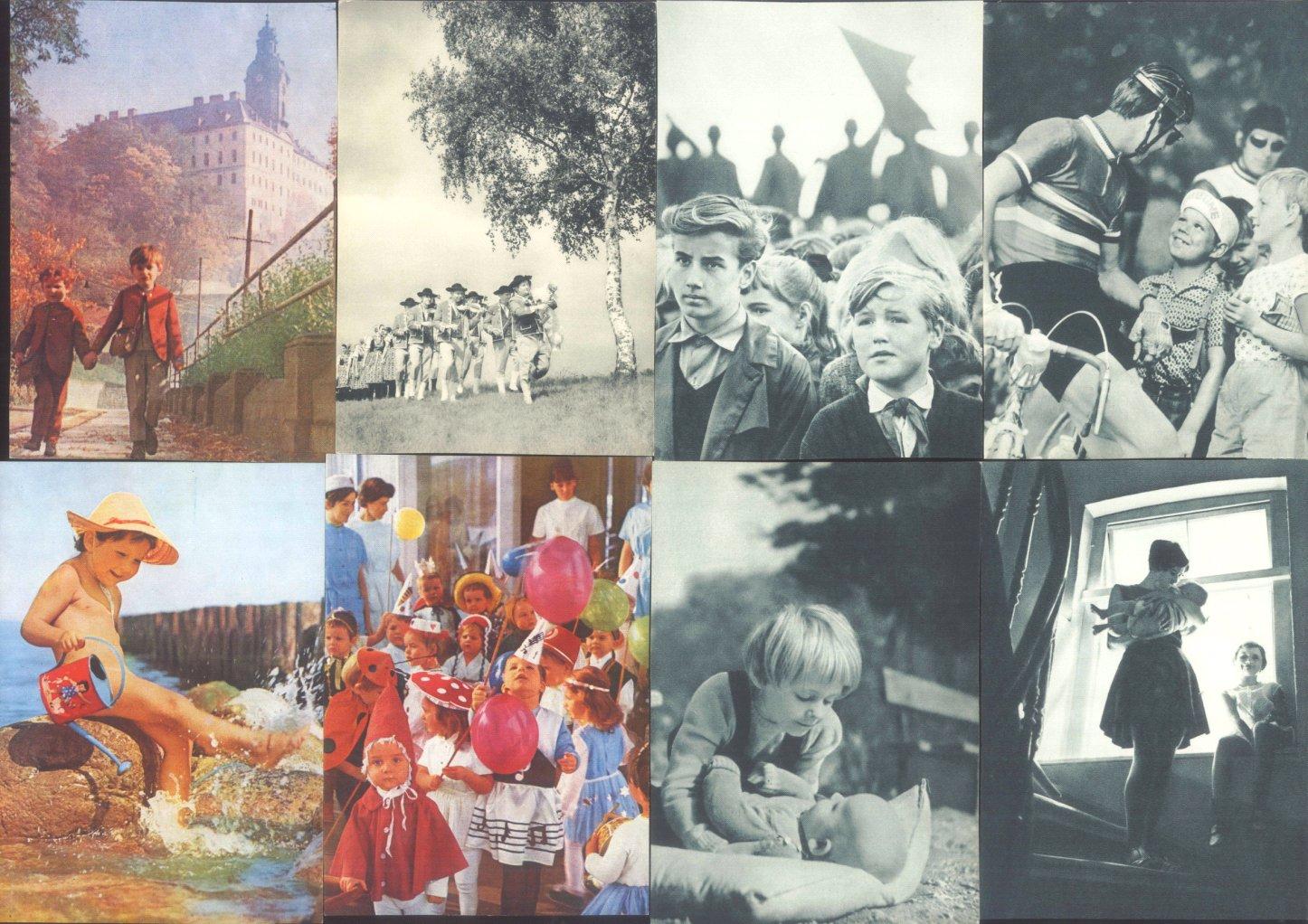 """ANSICHTSKARTEN DDR PROPAGANDA """"Kinder"""" und """"Grotewohl""""-3"""