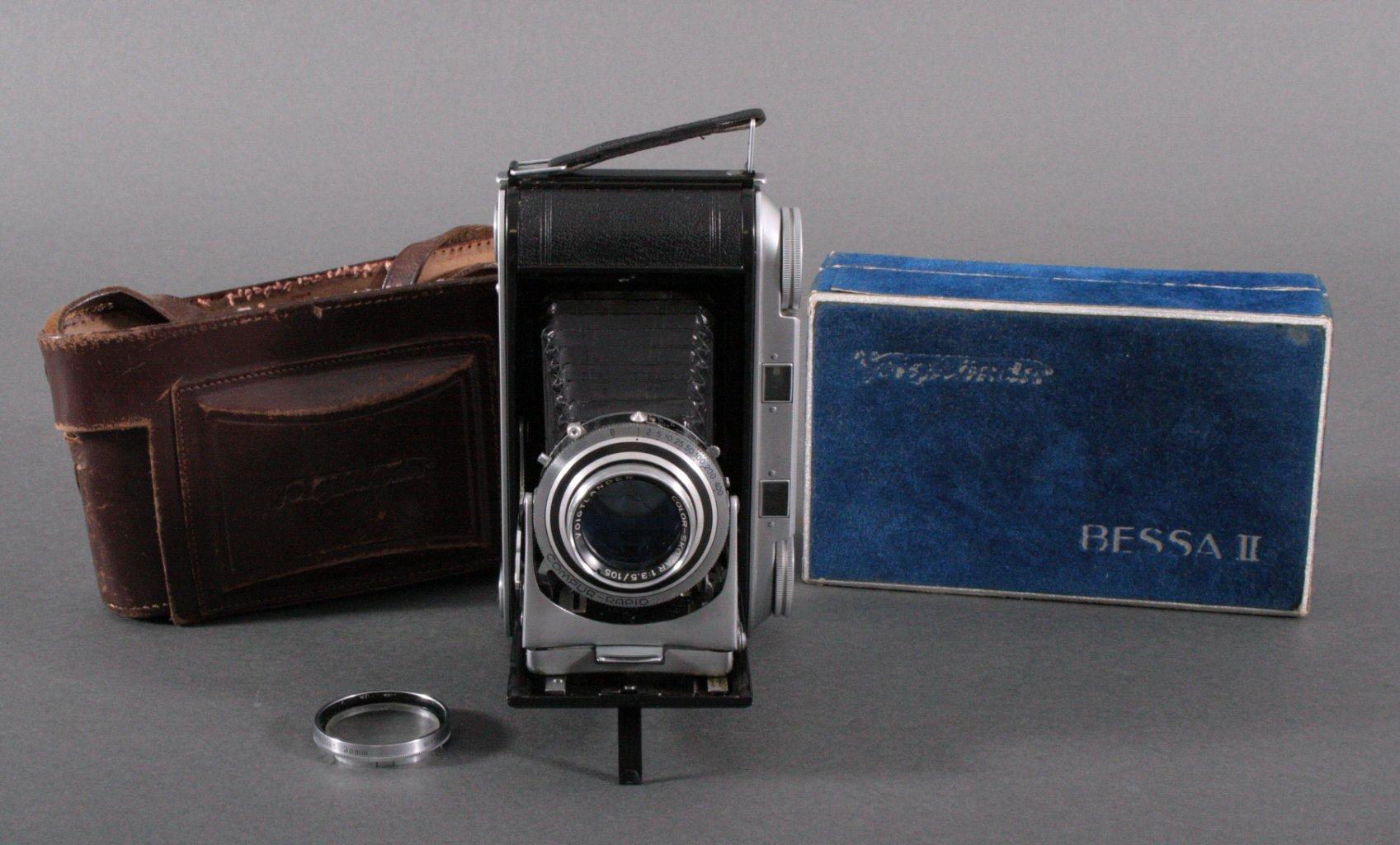 Voigtländer Bessa II Kamera in Originaletui