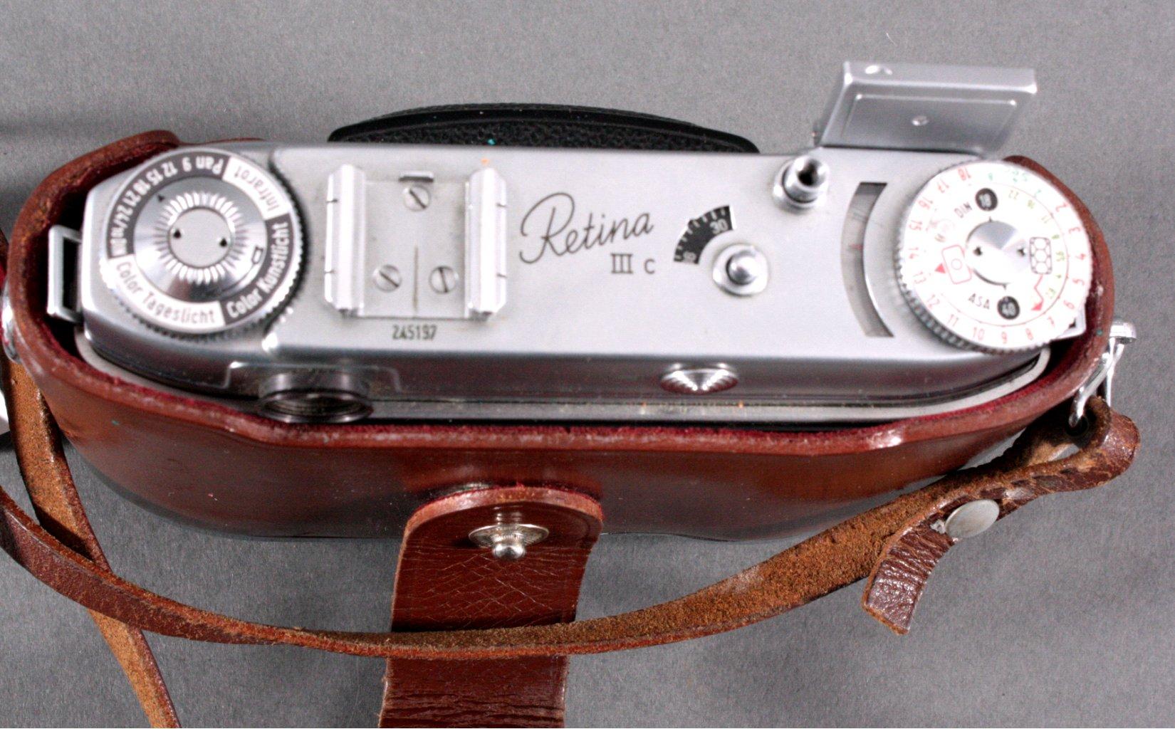 Kodak Retina IIIc Kamera-1