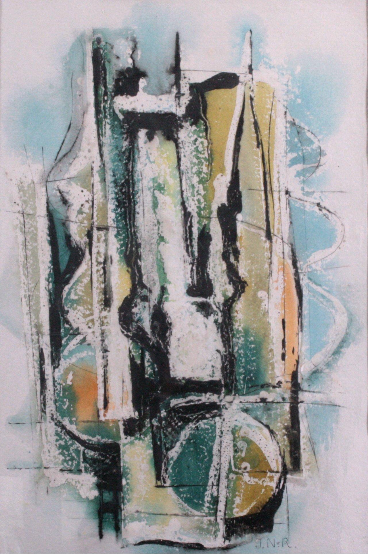 Ilse Nickol-Ruppel, Abstrakte Komposition-1
