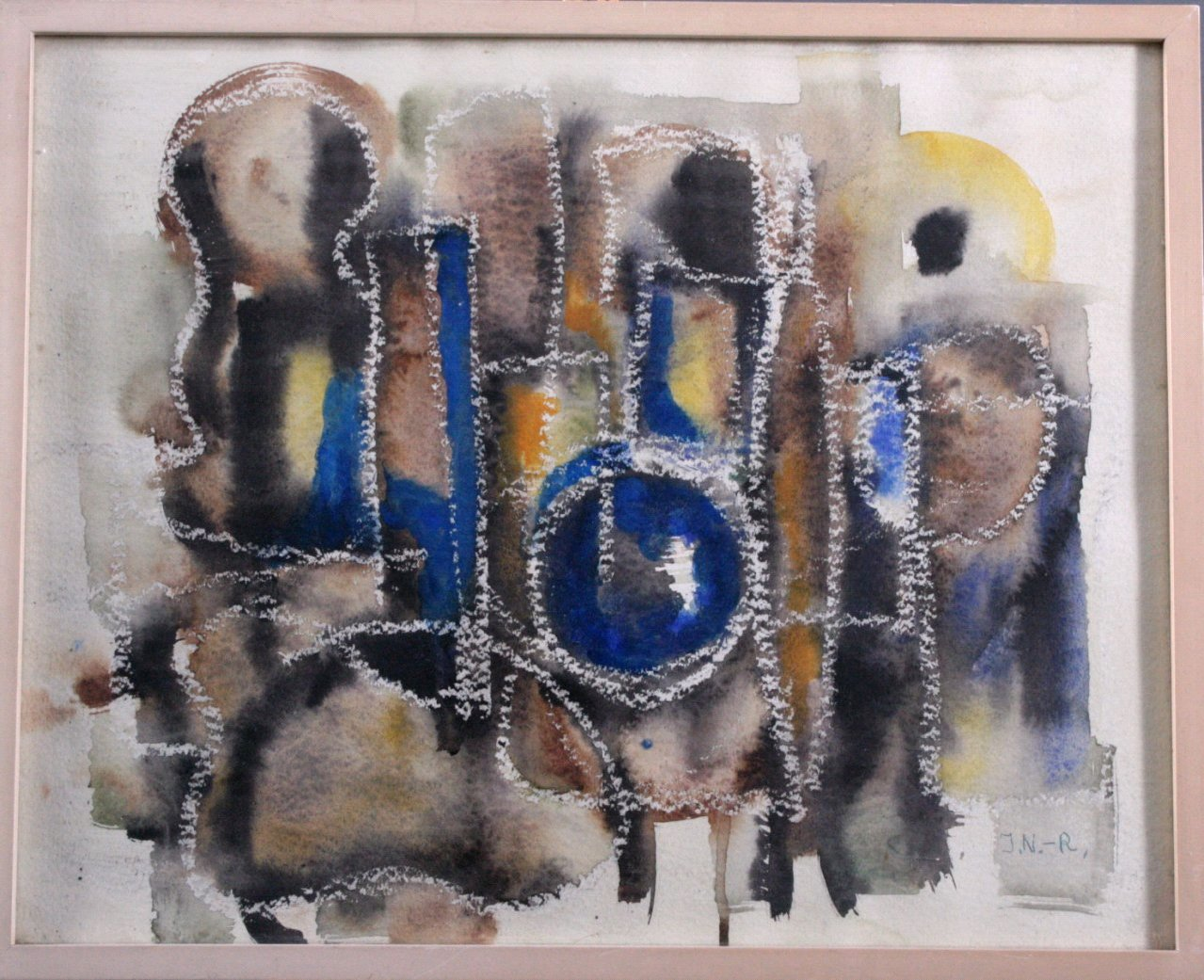 Ilse Nickol-Ruppel, Abstrakte Komposition