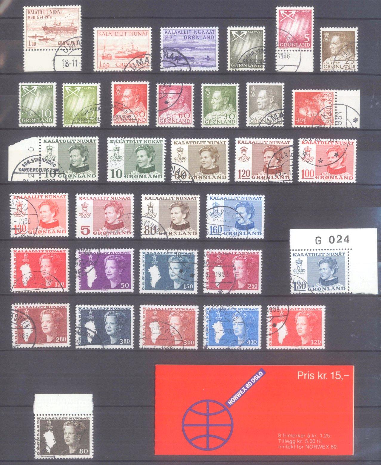 GRÖNLAND 1963-1989
