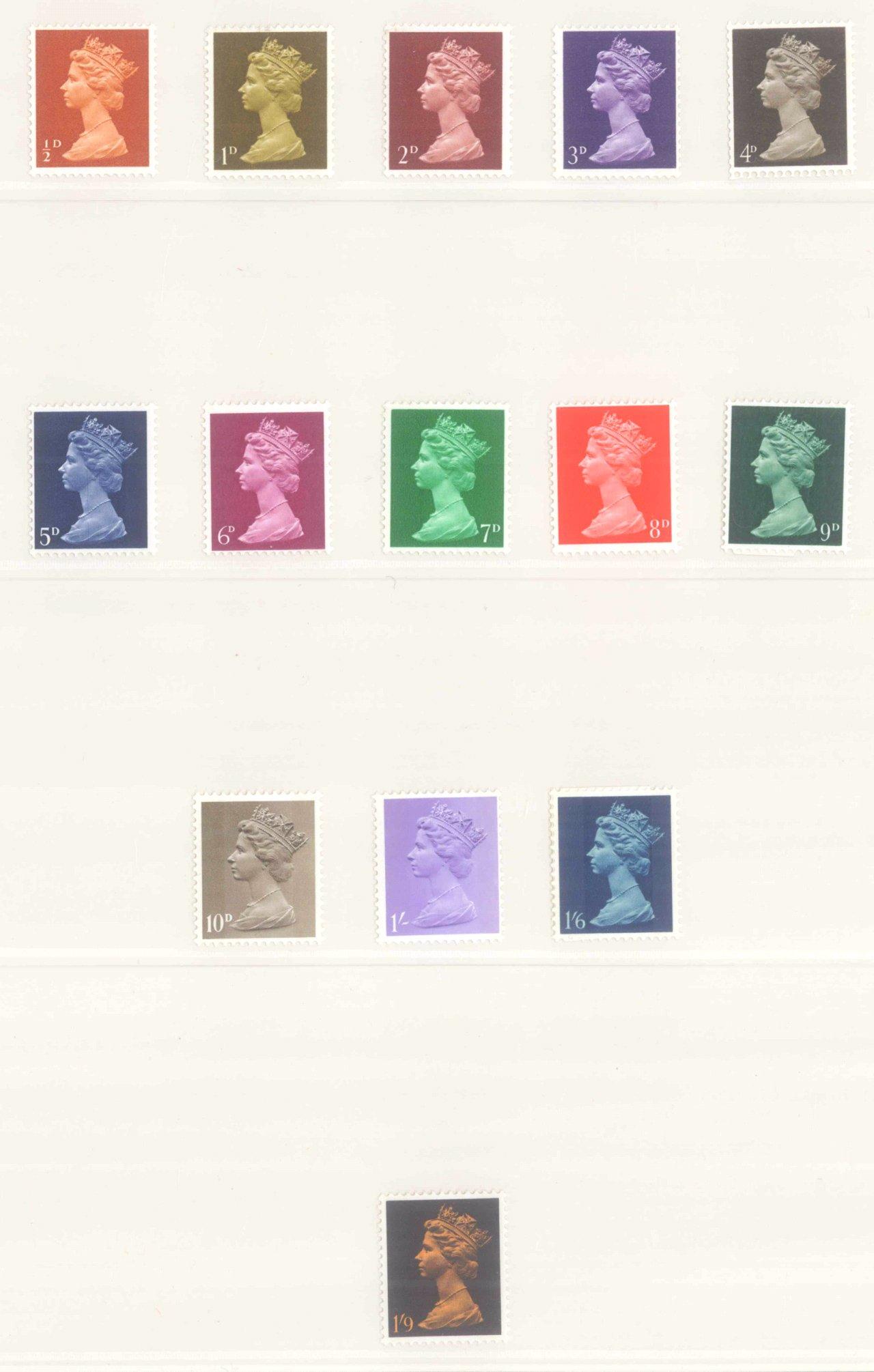 GROSSBRITANNIEN 1967-1985, NOMINALE: 82,- BRITISCHE PFUND