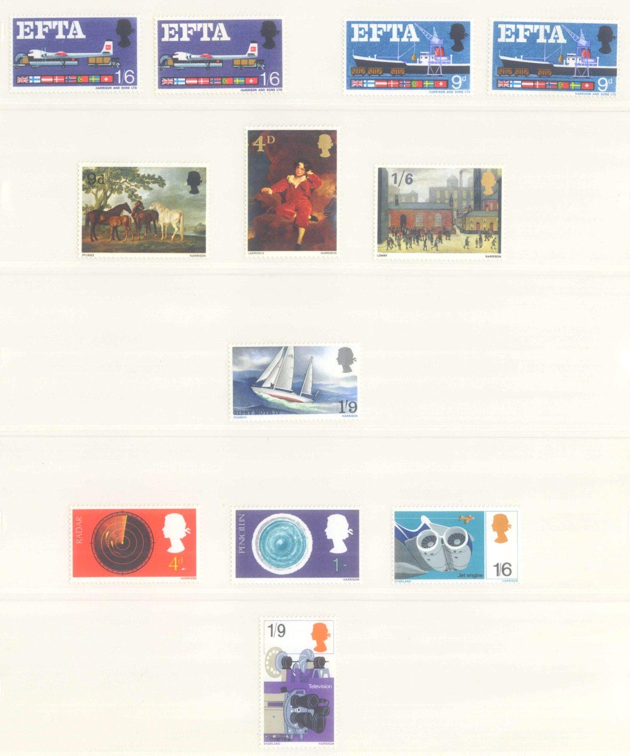 GROSSBRITANNIEN 1967-1985, NOMINALE: 82,- BRITISCHE PFUND-1
