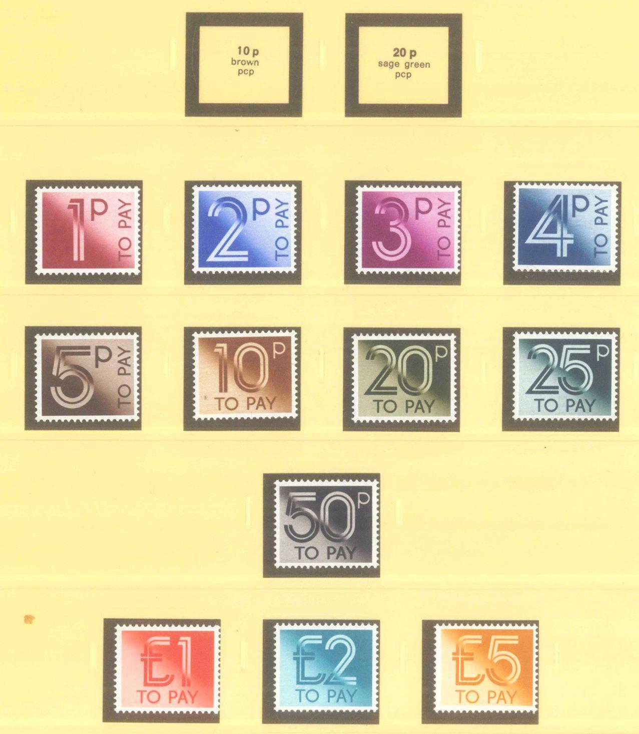 GROSSBRITANNIEN 1967-1985, NOMINALE: 82,- BRITISCHE PFUND-9