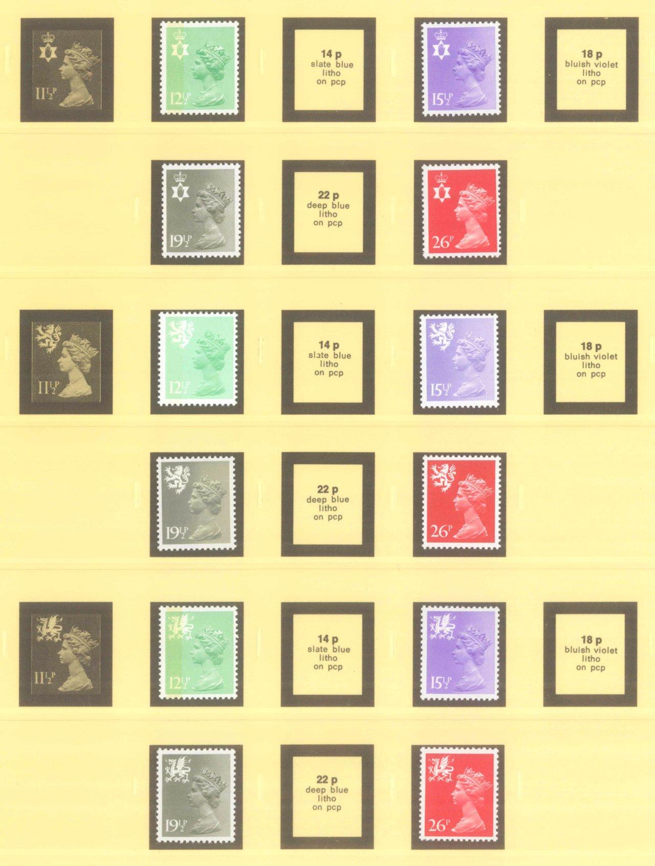 GROSSBRITANNIEN 1967-1985, NOMINALE: 82,- BRITISCHE PFUND-11