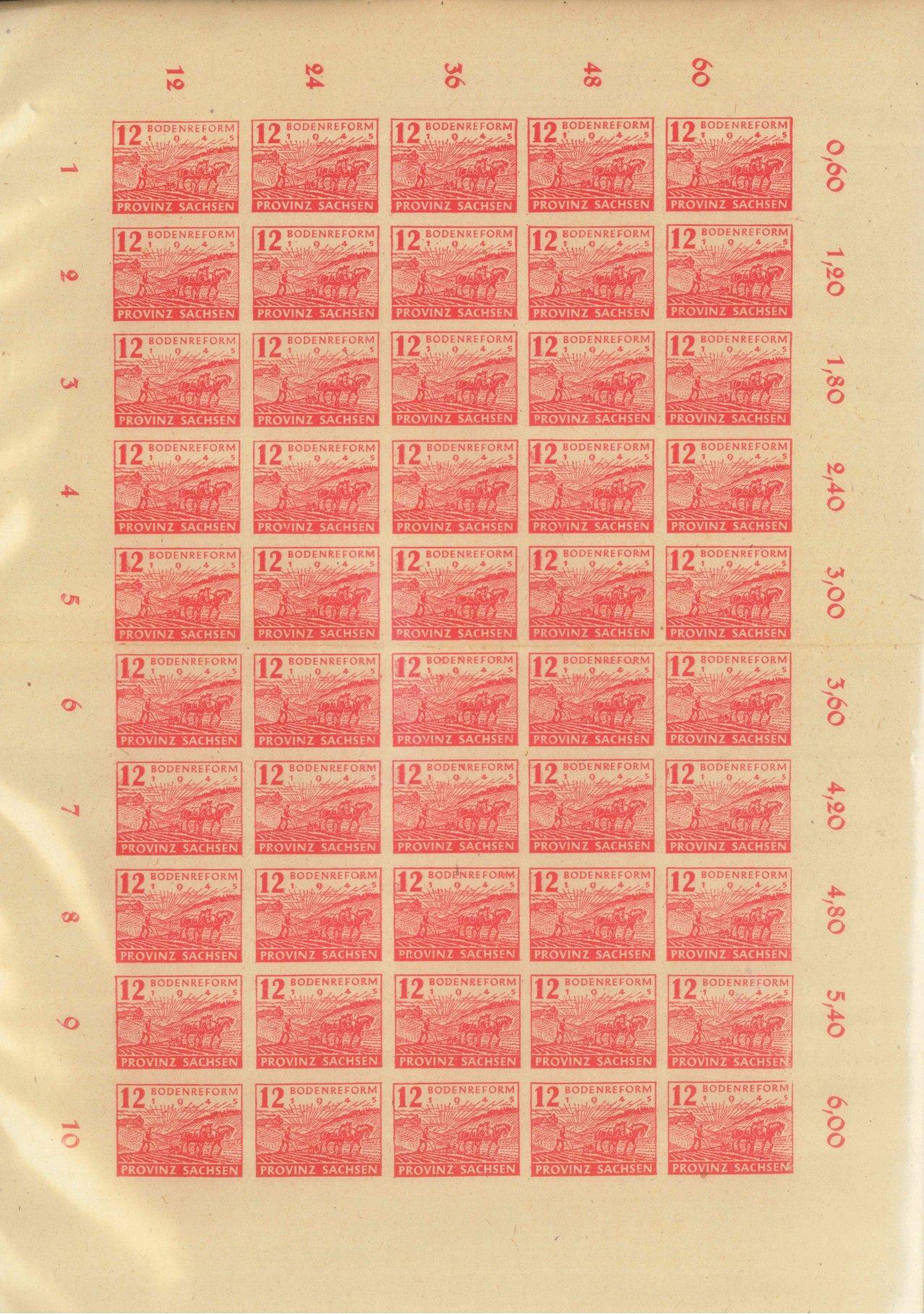 1945 SOWJETISCHE ZONE – PROVINZ SACHSEN-2
