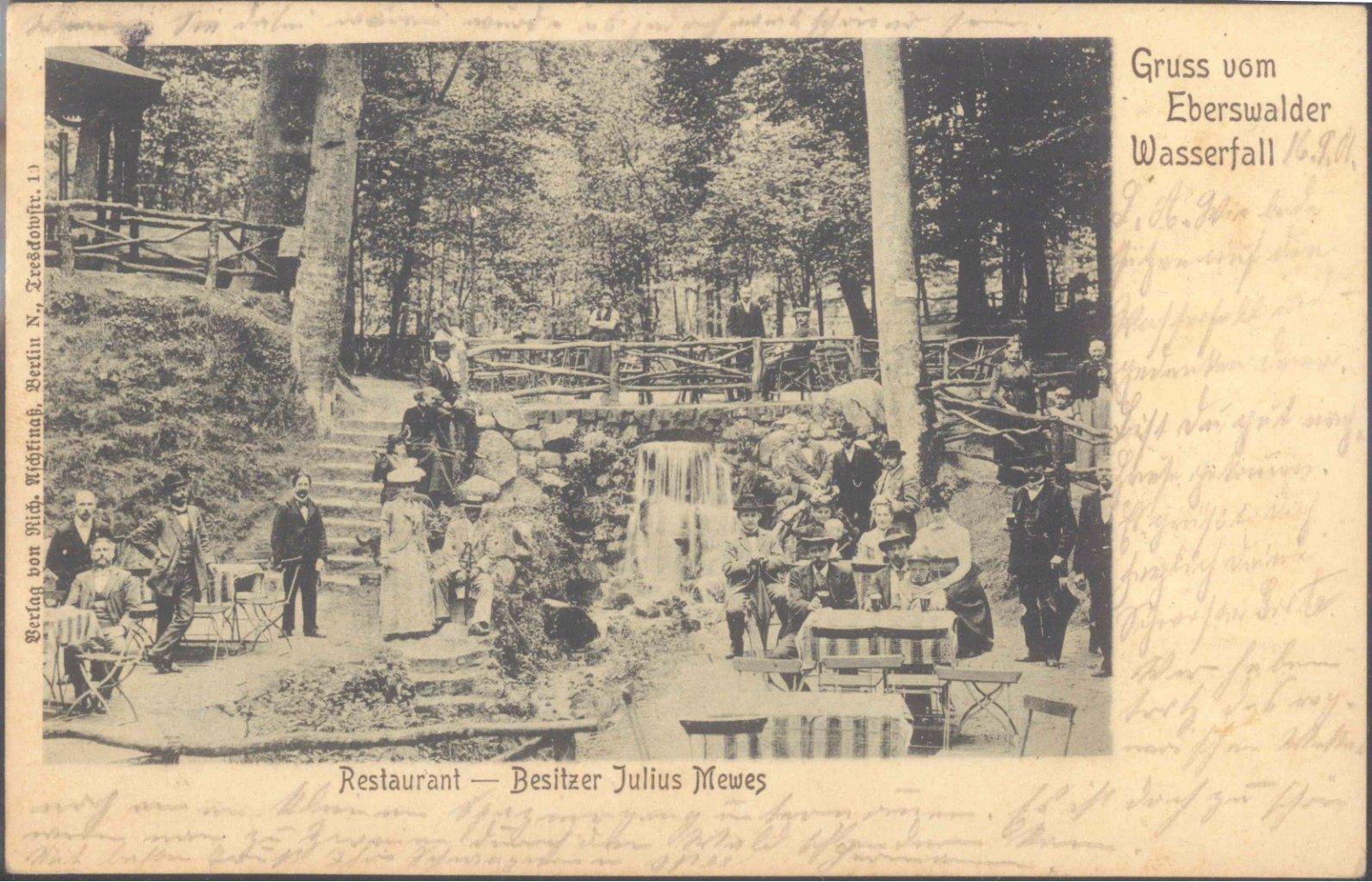 1901 GRUSS VOM…, Bahnpost BERLIN-STRALSUND