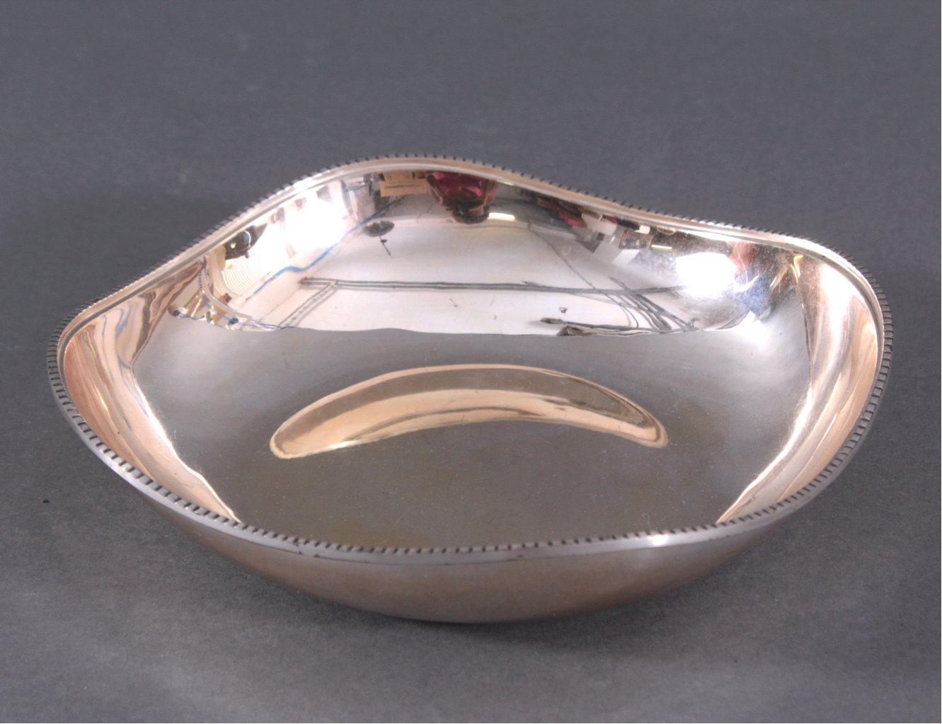 Silberne Anbietschale, 925er Sterlingsilber