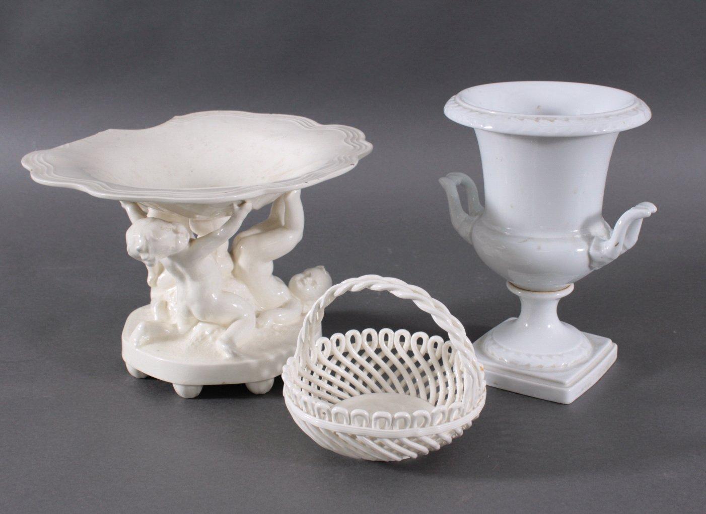3 Teile Porzellan