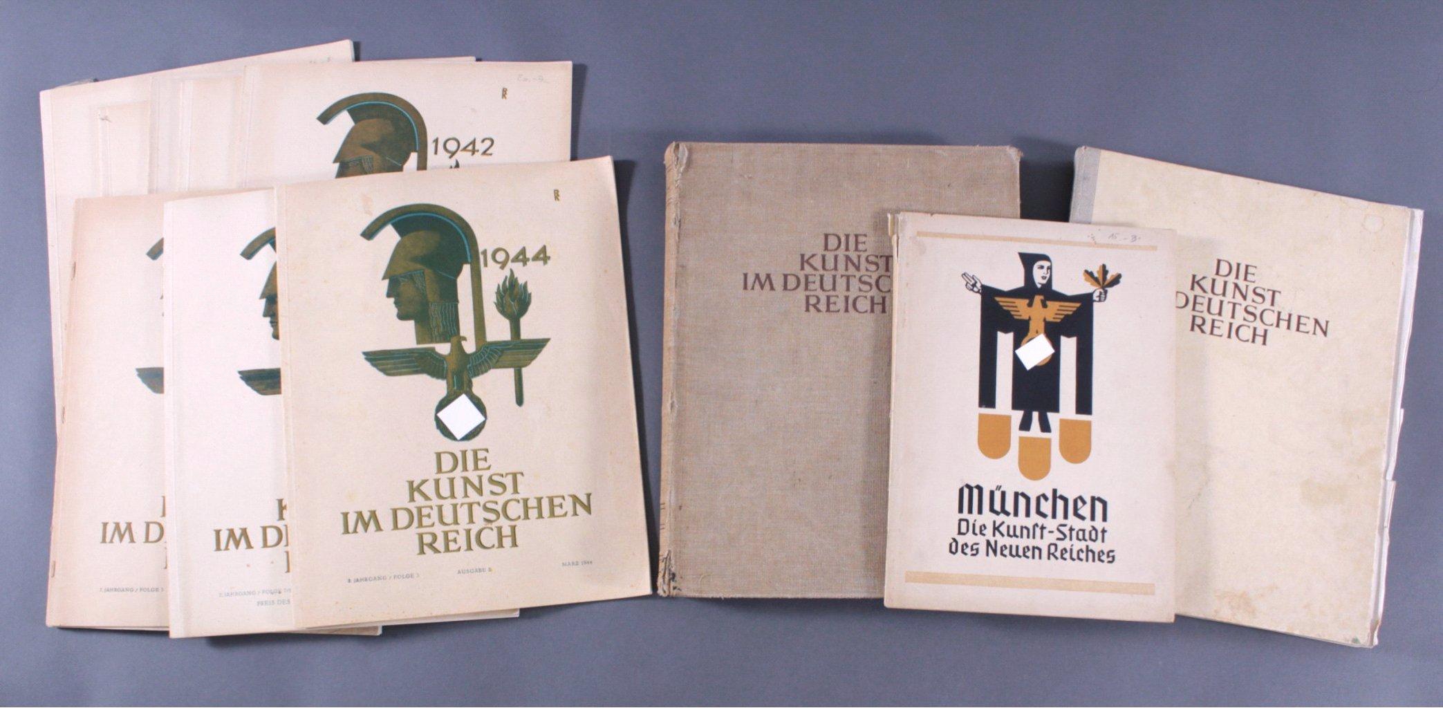 Kunstbücher und Broschüren III. Reich