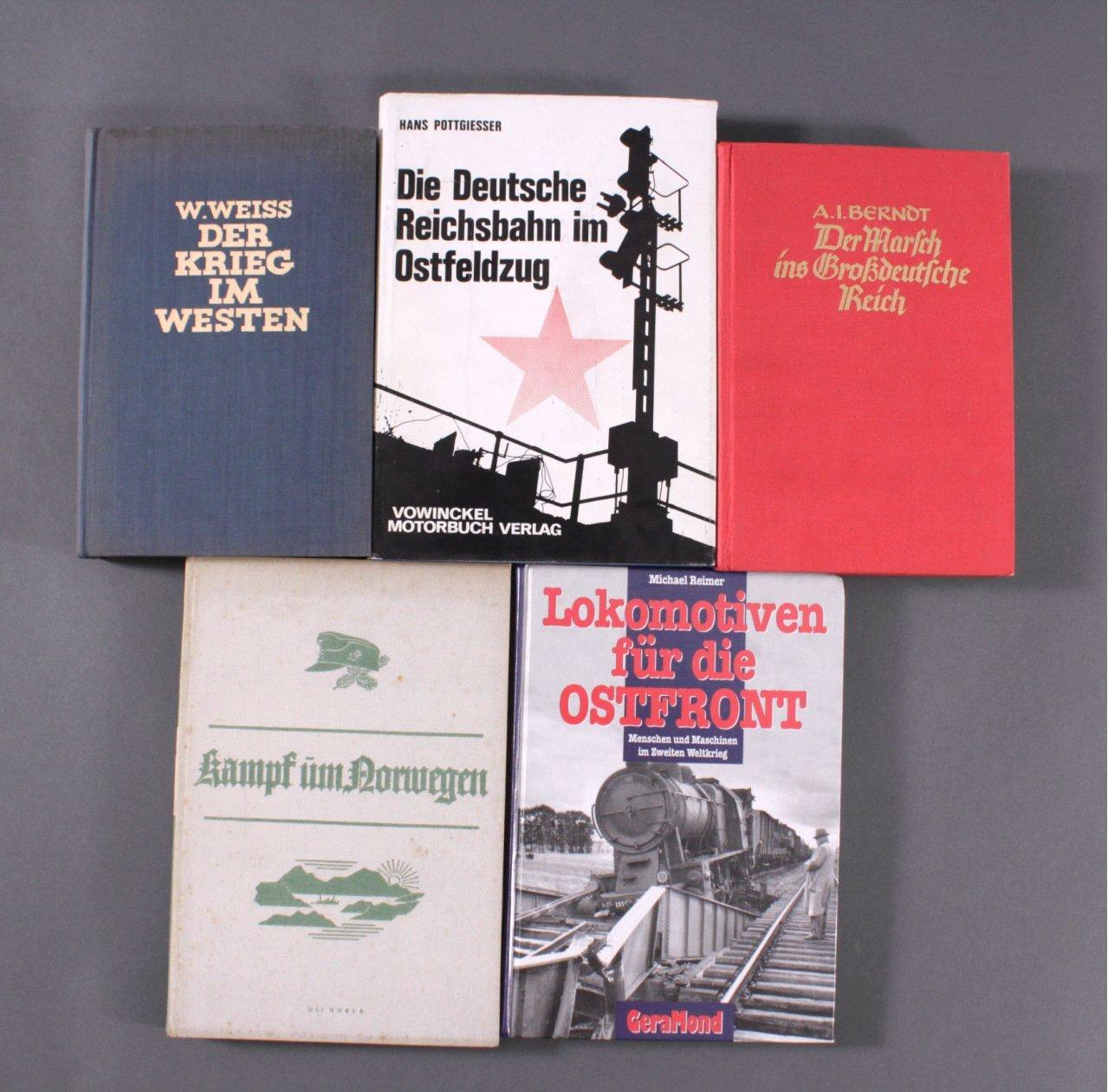 5 Bücher Thema III. Reich