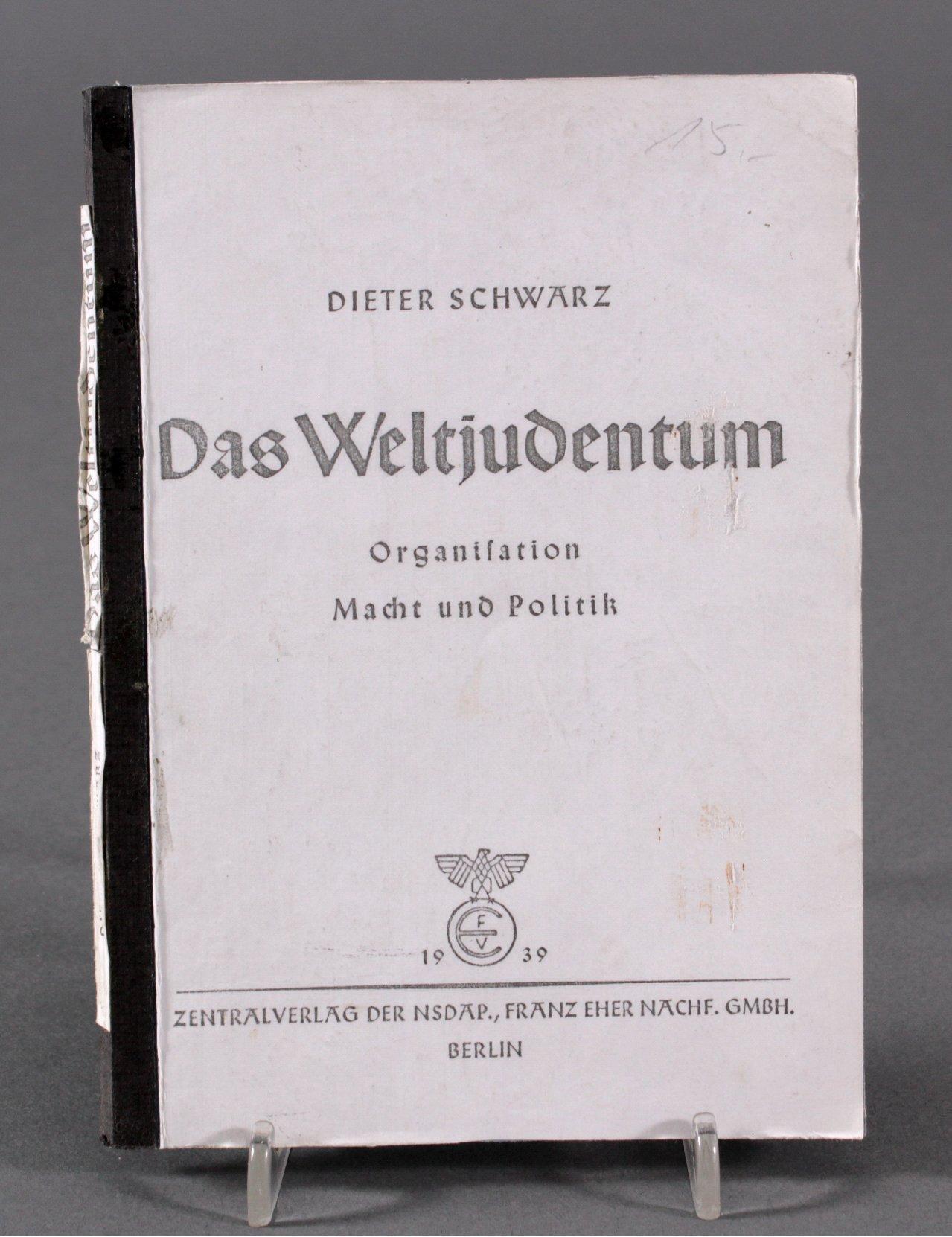 Dieter Schwarz, Das Weltjudentum