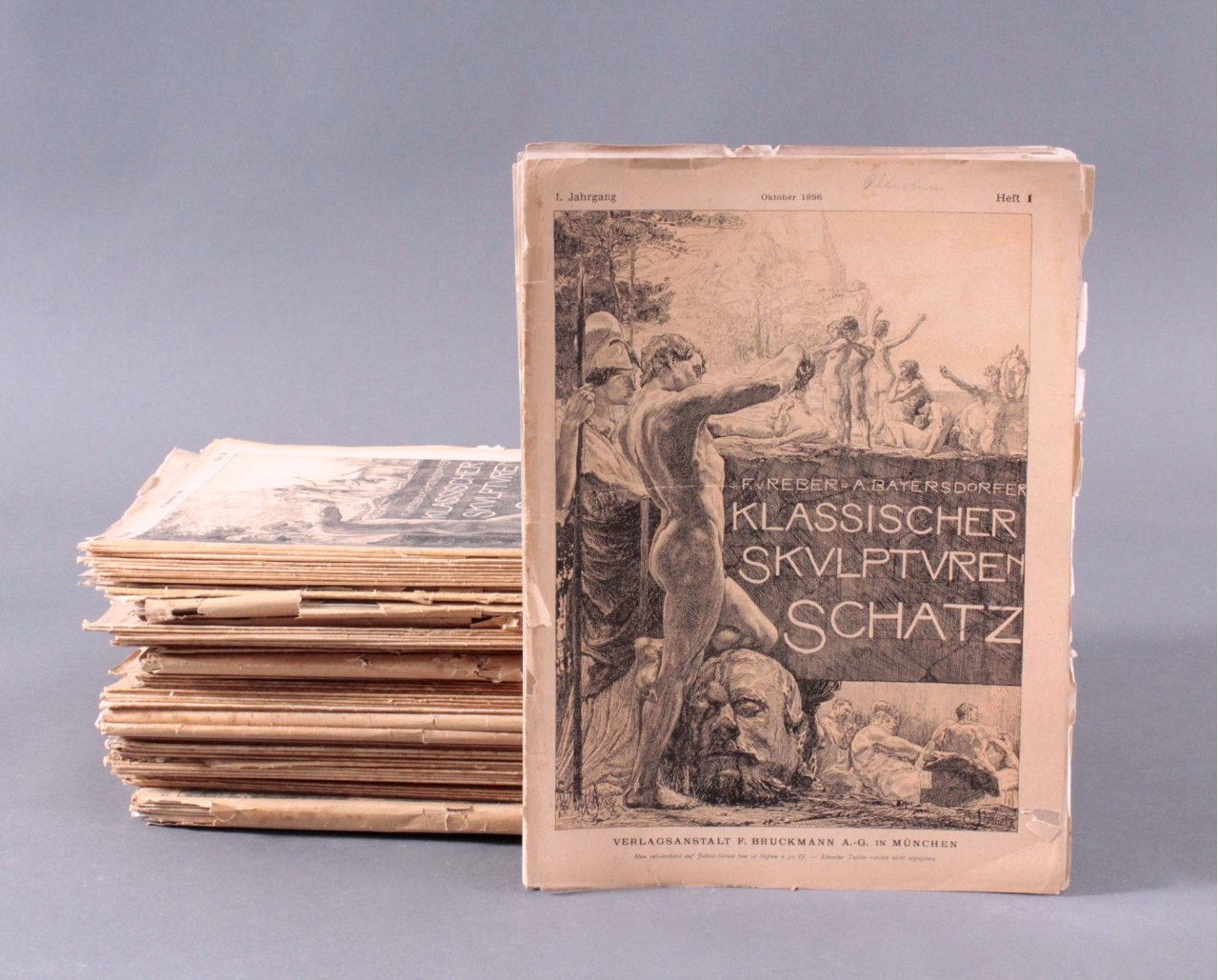 Klassischer Skulpturen-Schatz, 53 Hefte