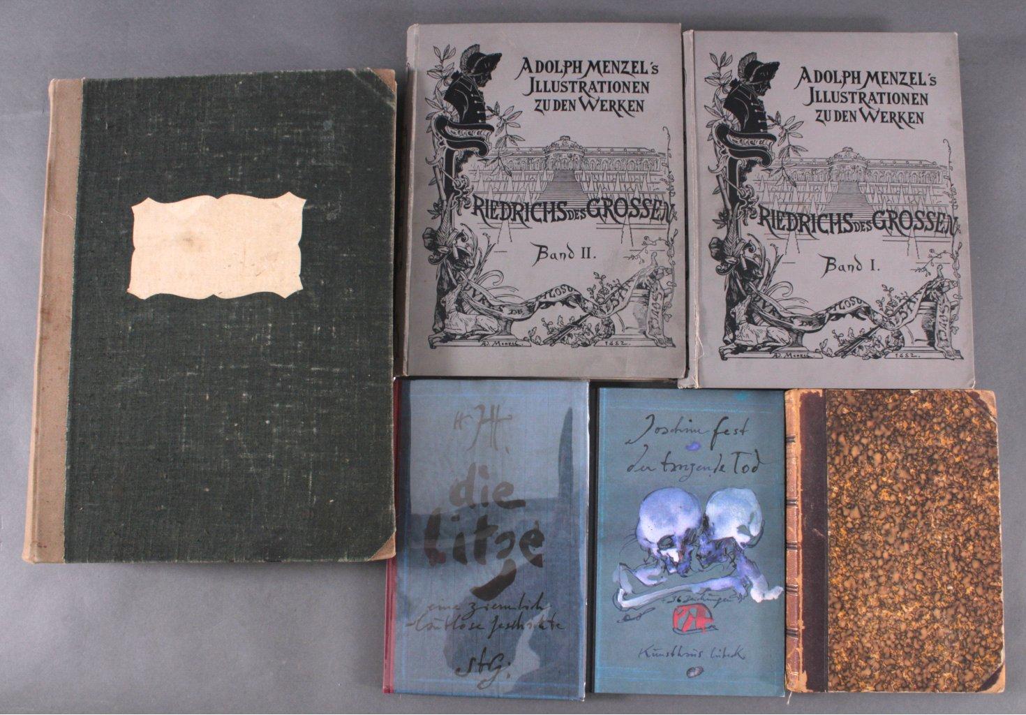 Konvolut antiquarischer Kunstbücher