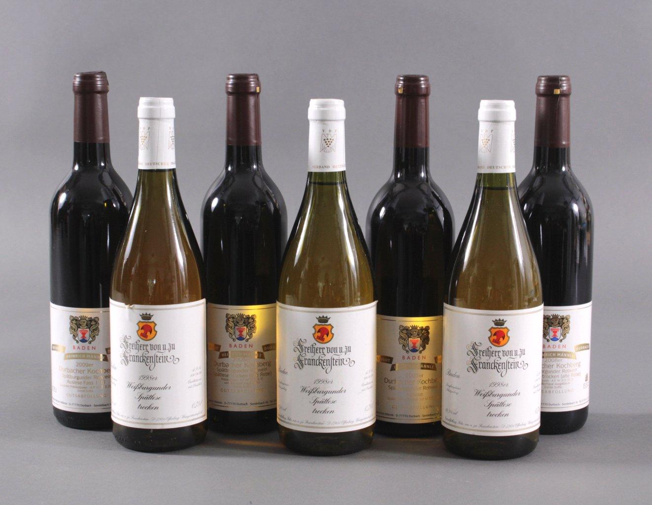 Konvolut Wein
