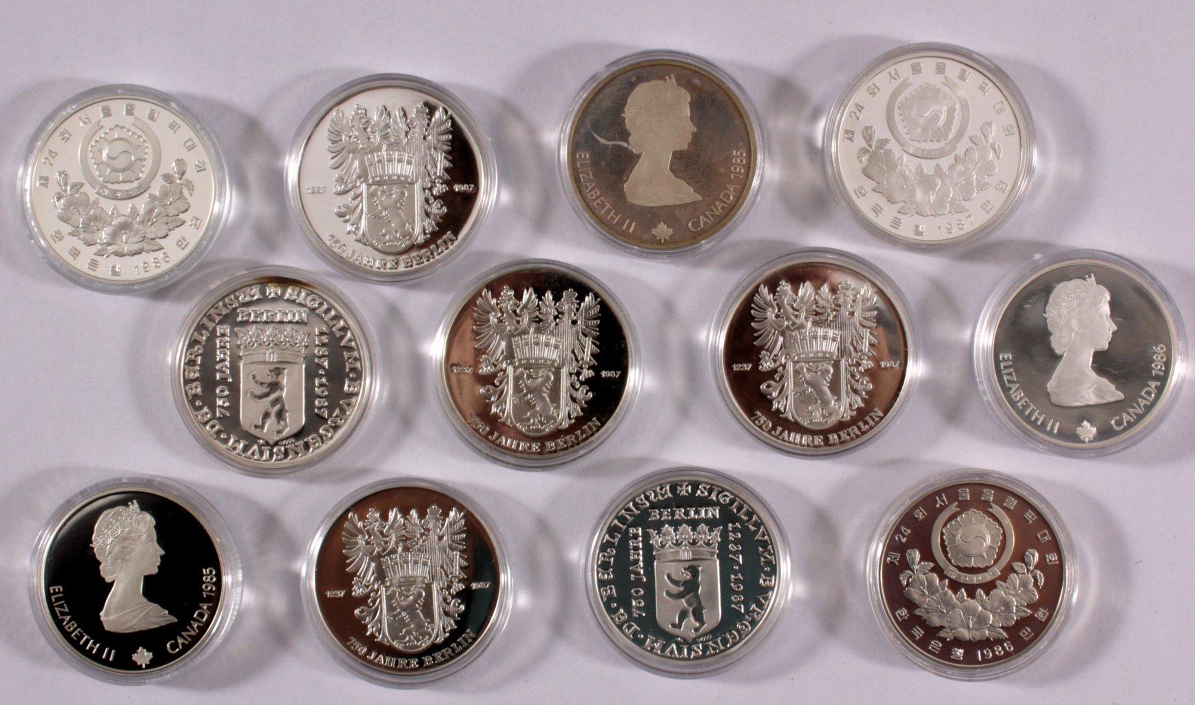 Kleine Sammlung Silbermünzen-1