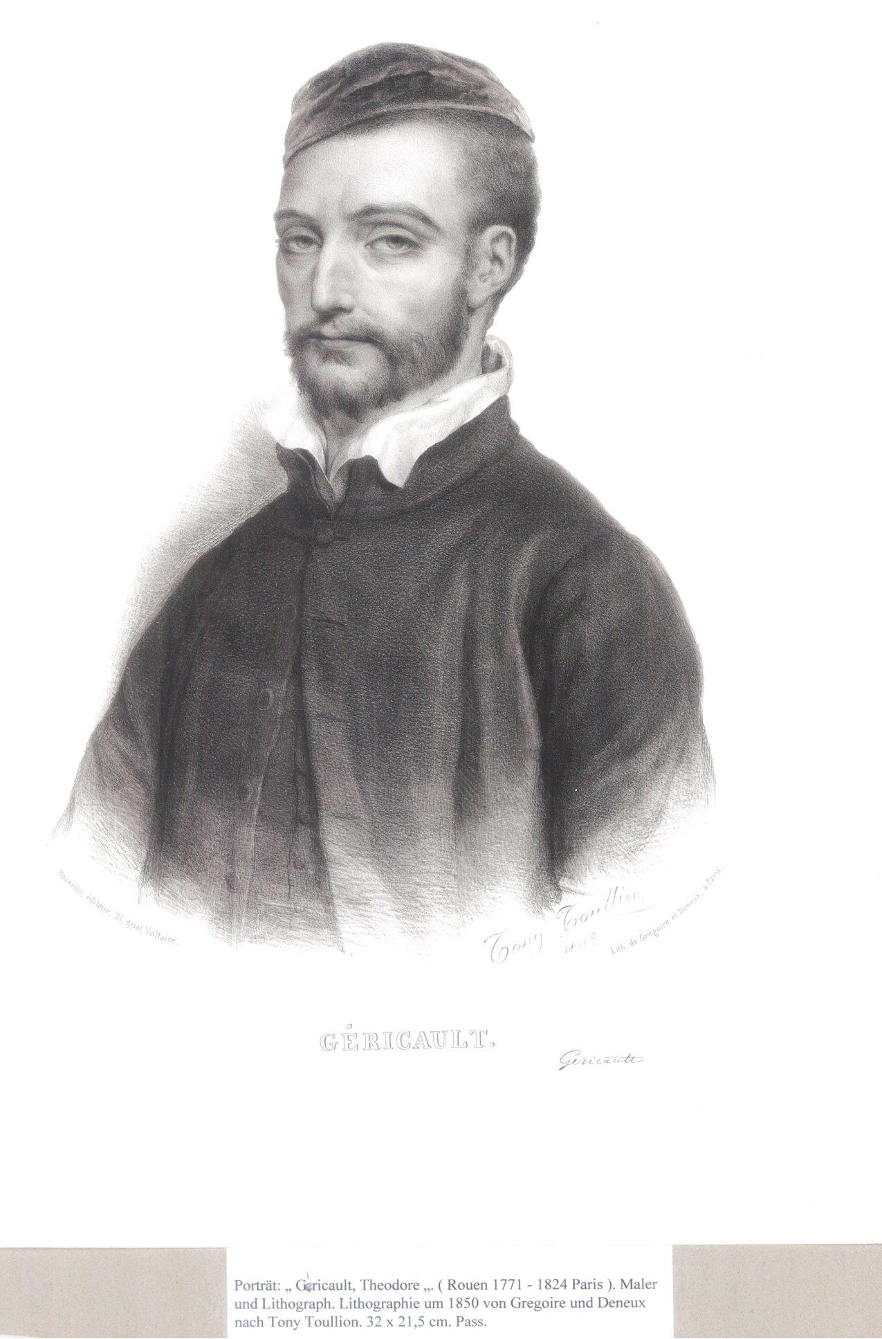Lithographie um 1850