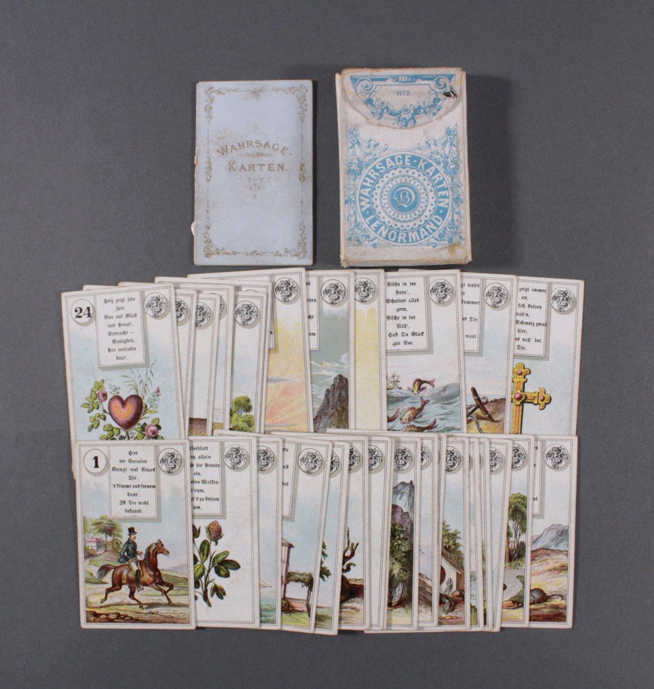 Lenormand Wahrsager-Karten No. 2.