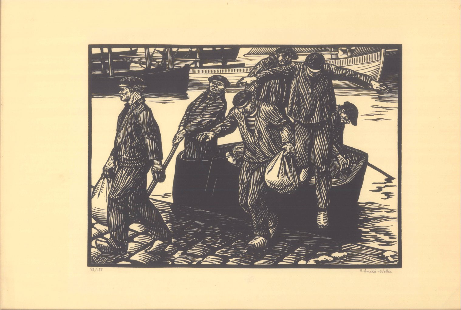 Henry Amidie-Wetter ( 1869 Montlucon – 1929 Paris)