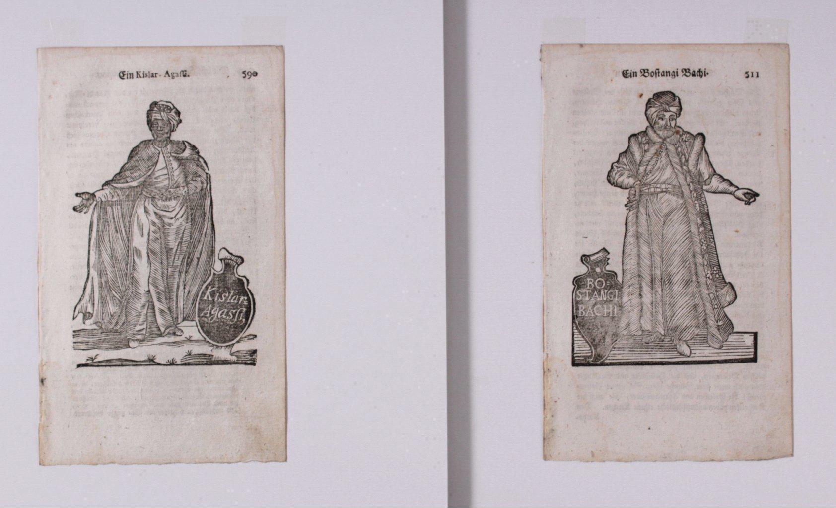 Holzschnitte um 1700