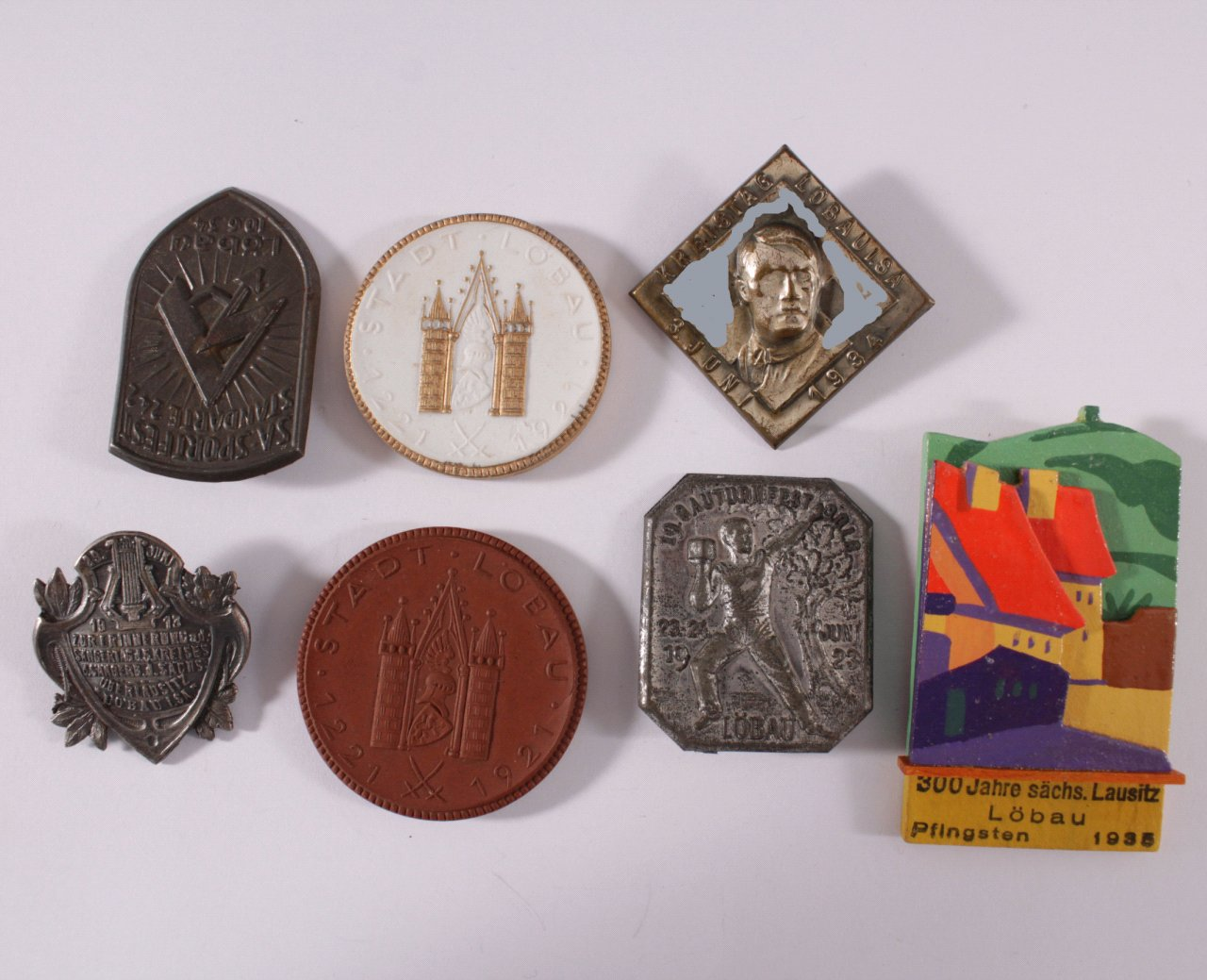 Abzeichen und Medaillen Löbau