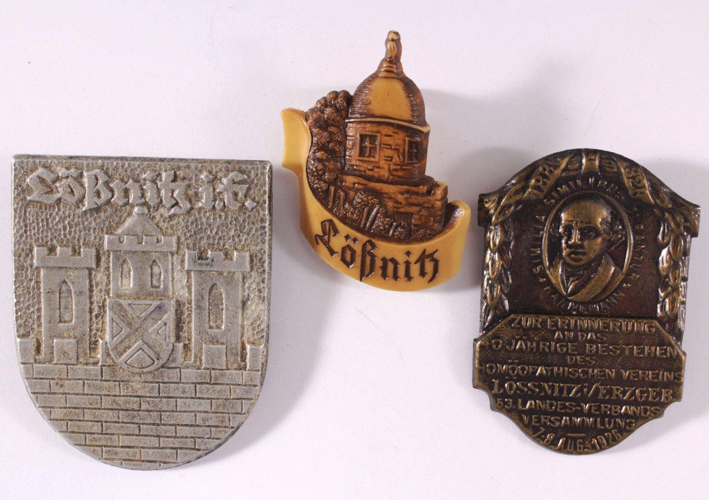 Abzeichen und Medaillen Lössnitz