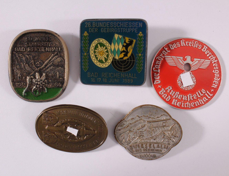 Abzeichen und Medaillen Bad Reichenhall