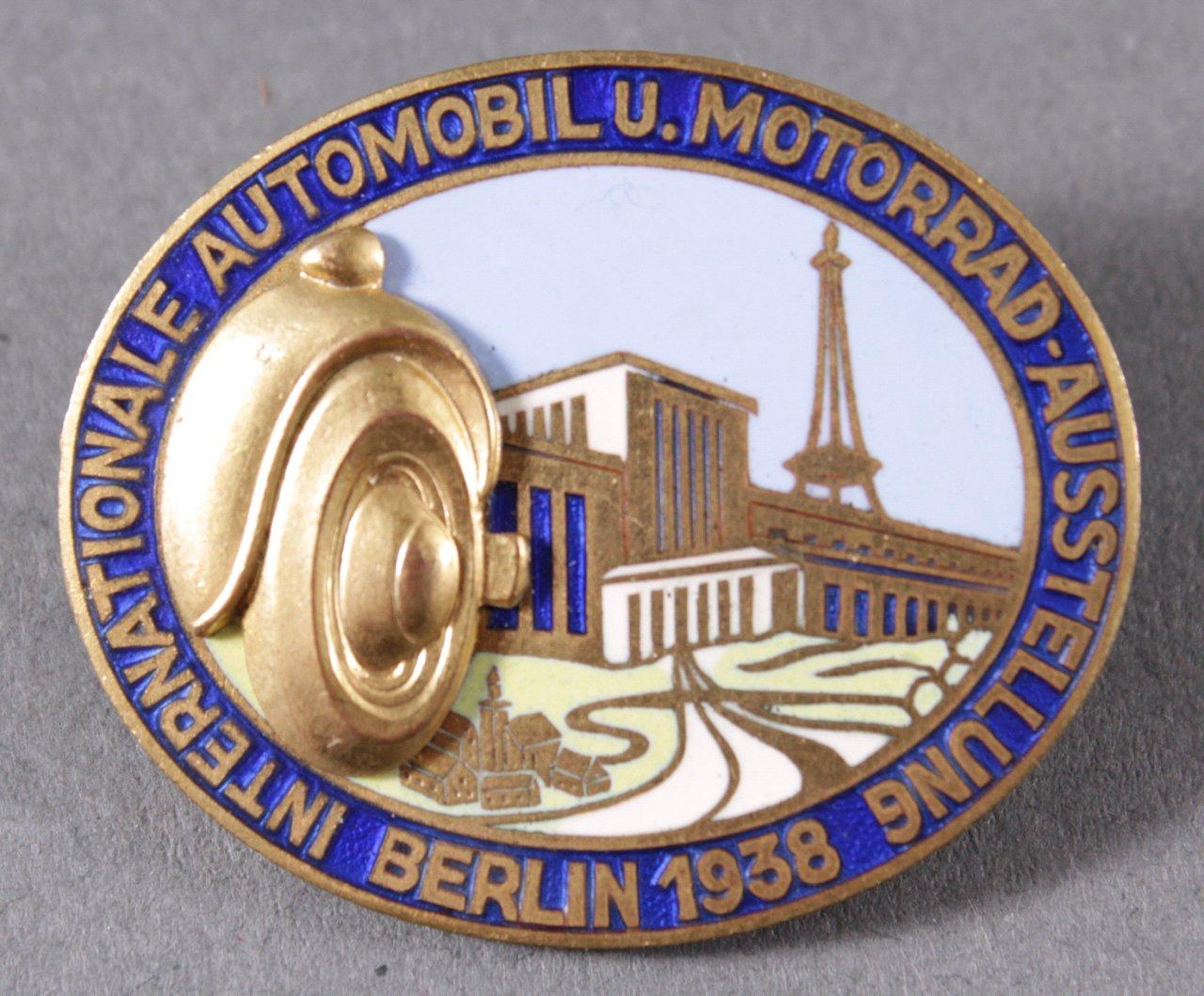 Veranstaltungsabzeichen Automobil und Motorradausstellung