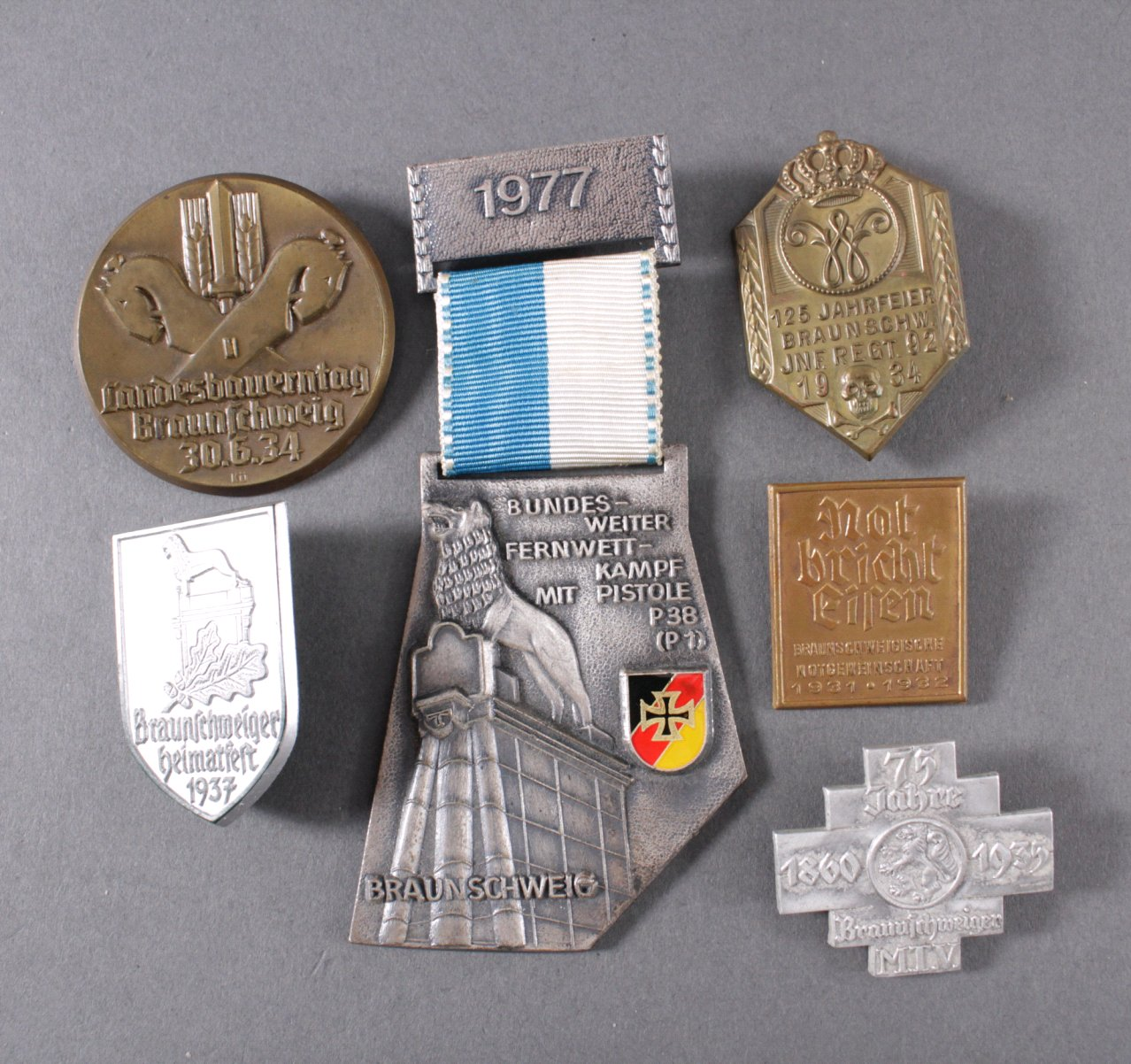 Tagungs- und Veranstaltungsabzeichen Braunschweig