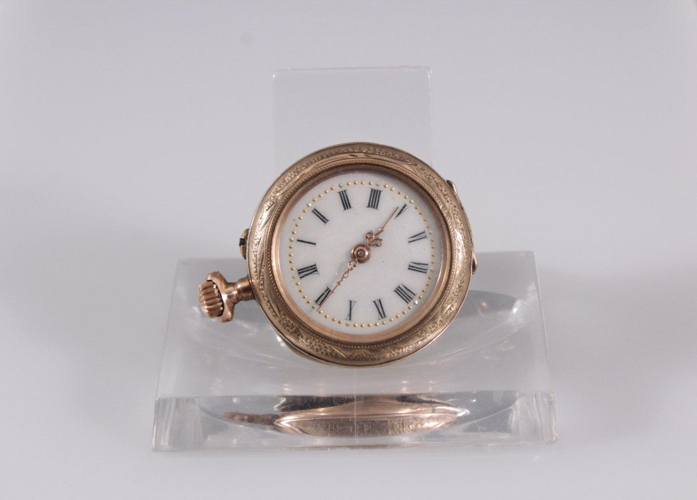 Damen-Taschenuhr um 1900
