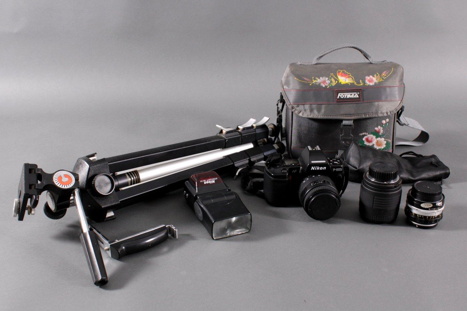 Nikon F-801s mit Zubehör