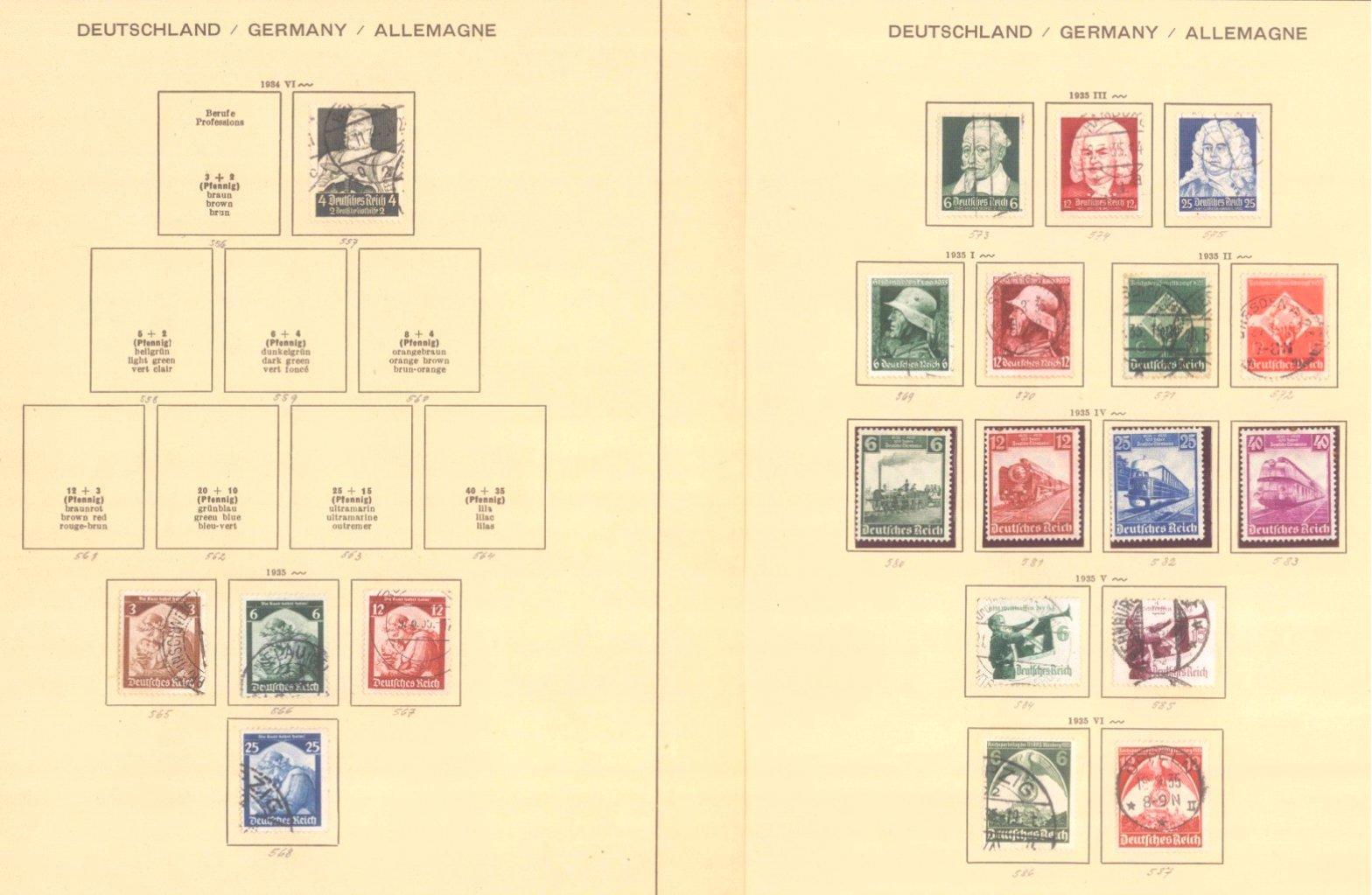 III. REICH 1934 bis 1945, mit OSTROPA – Block-1