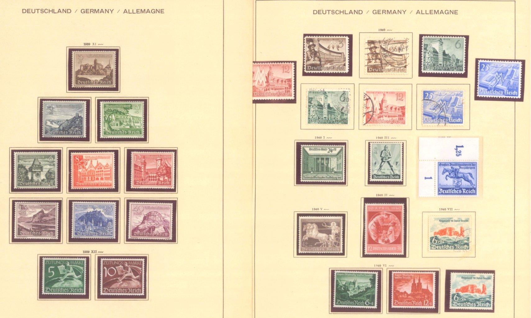 III. REICH 1934 bis 1945, mit OSTROPA – Block-6