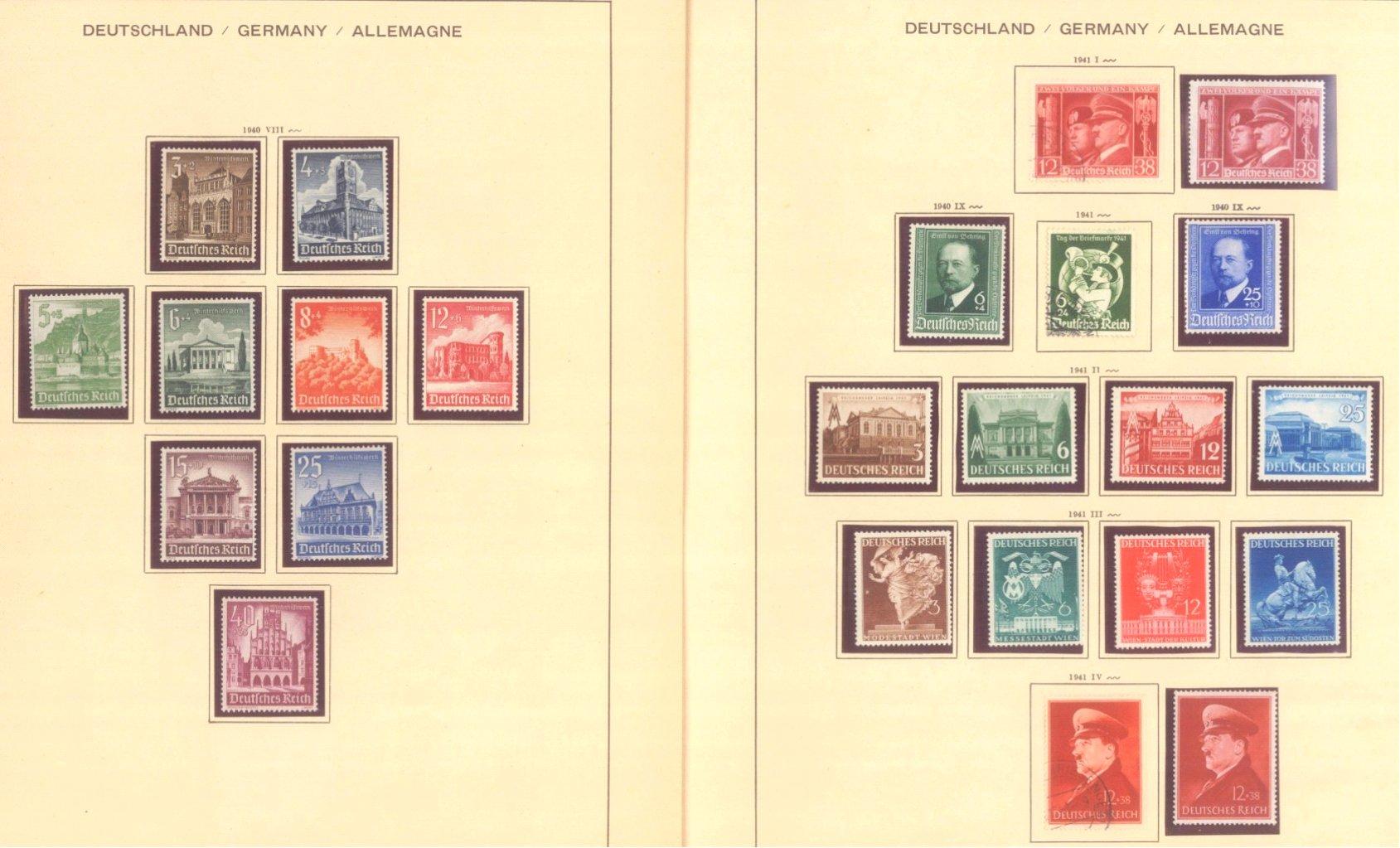 III. REICH 1934 bis 1945, mit OSTROPA – Block-7