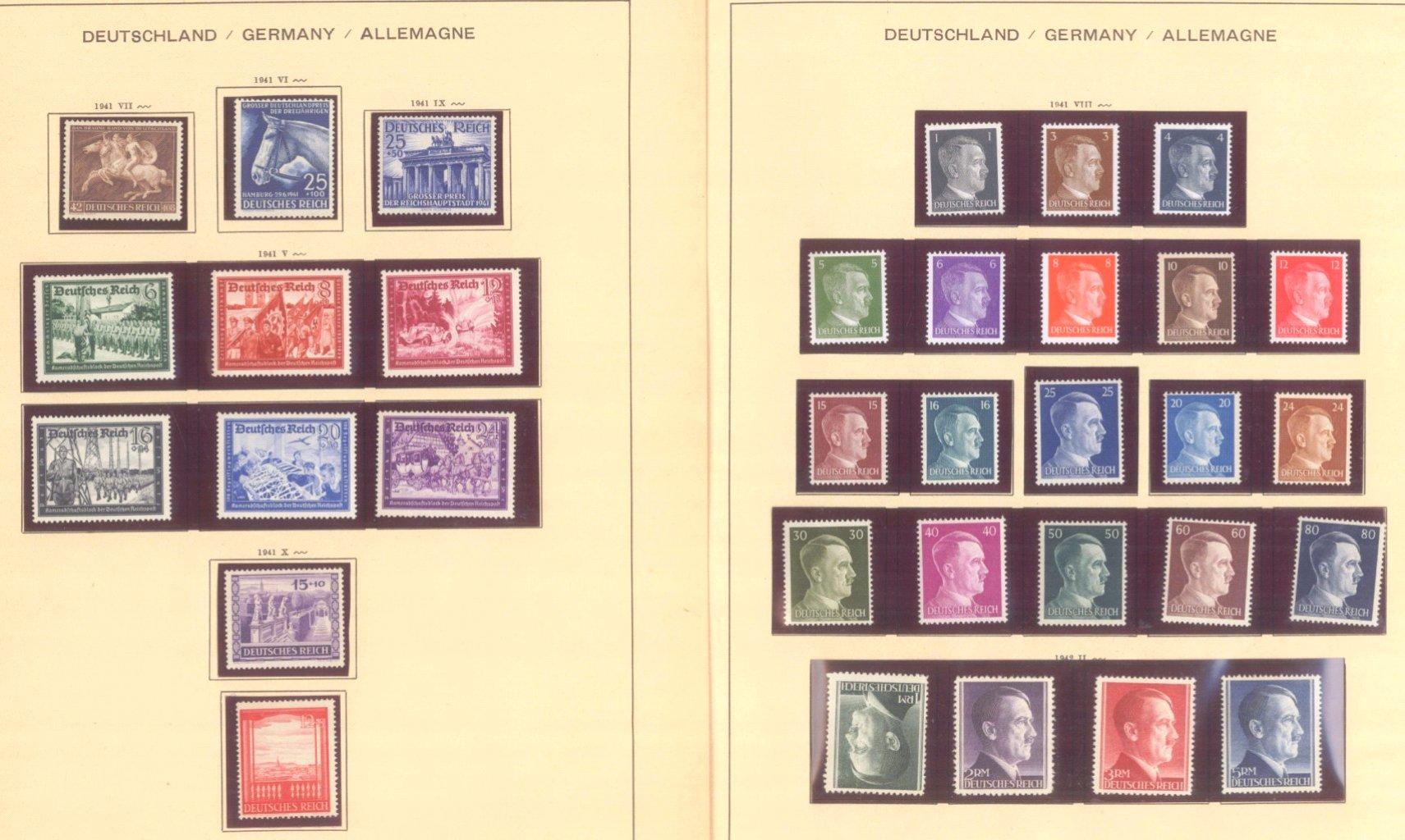 III. REICH 1934 bis 1945, mit OSTROPA – Block-8