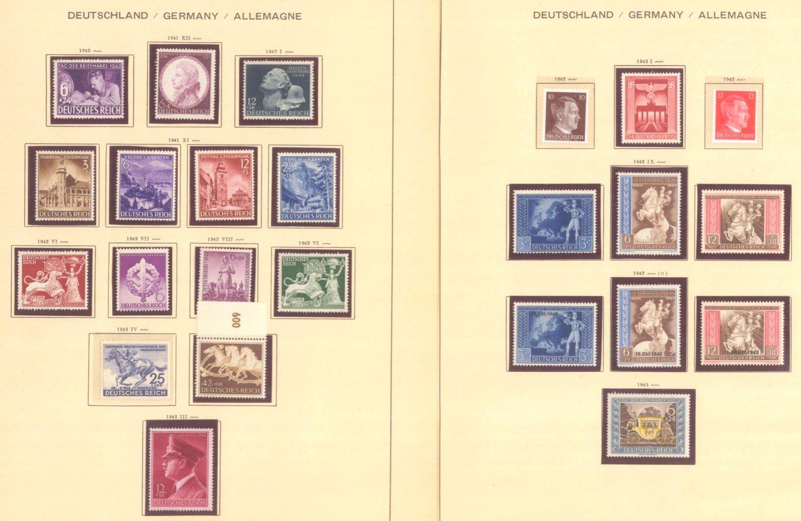 III. REICH 1934 bis 1945, mit OSTROPA – Block-9