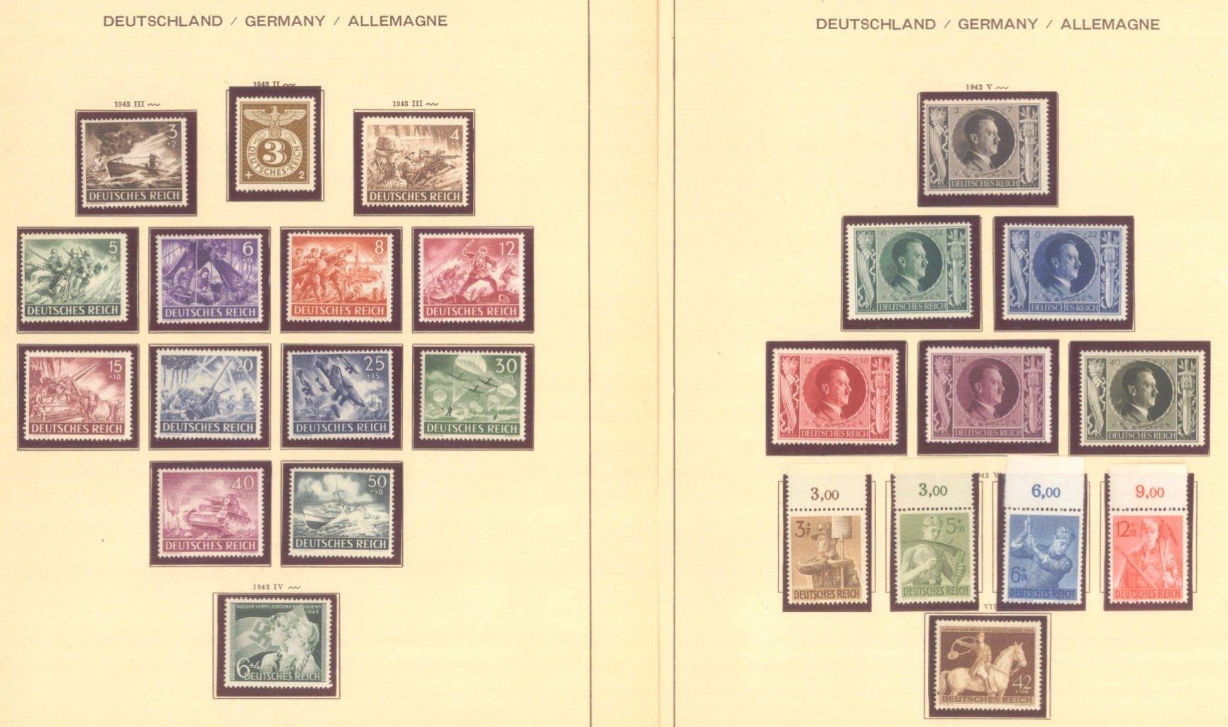 III. REICH 1934 bis 1945, mit OSTROPA – Block-10