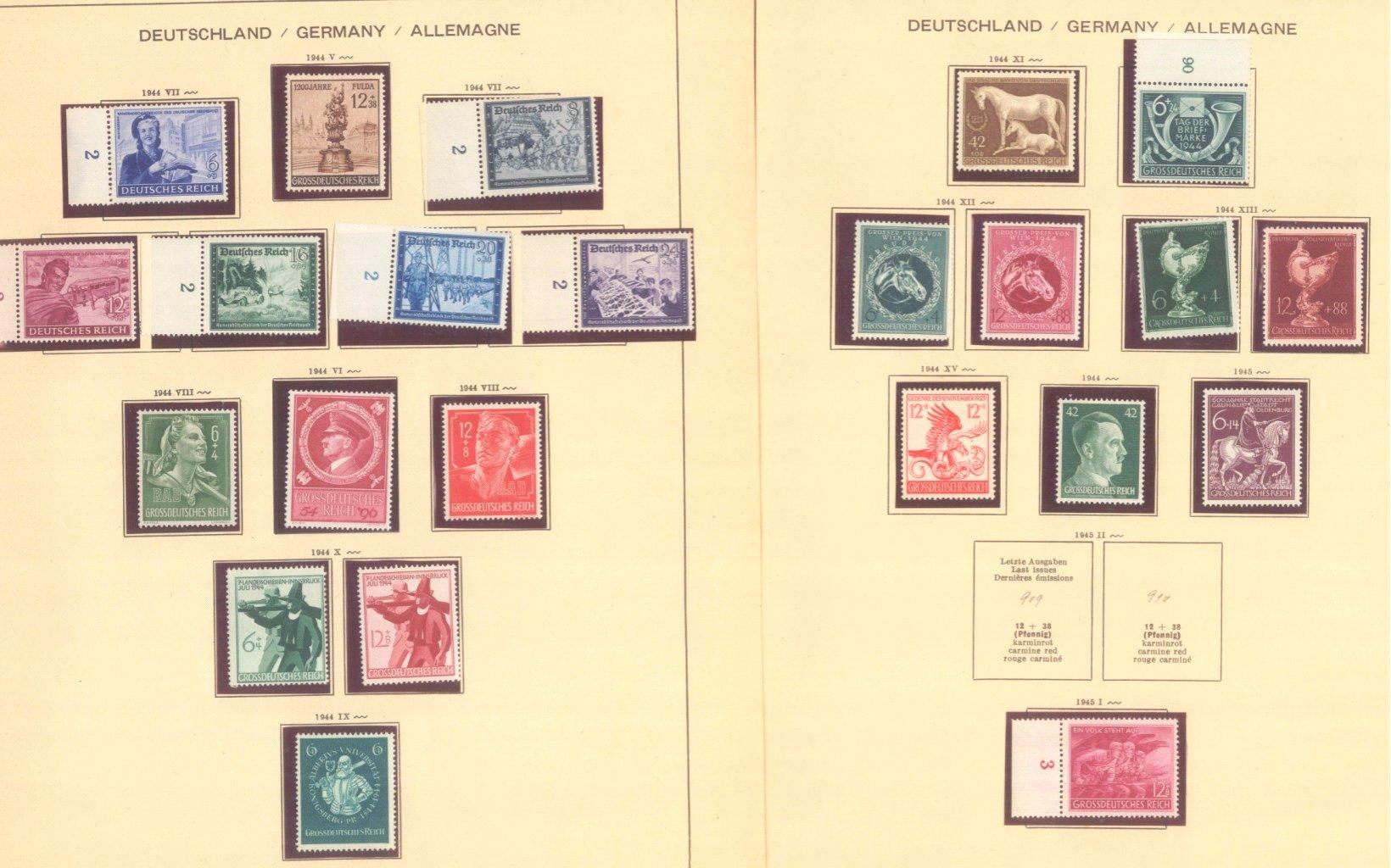 III. REICH 1934 bis 1945, mit OSTROPA – Block-11