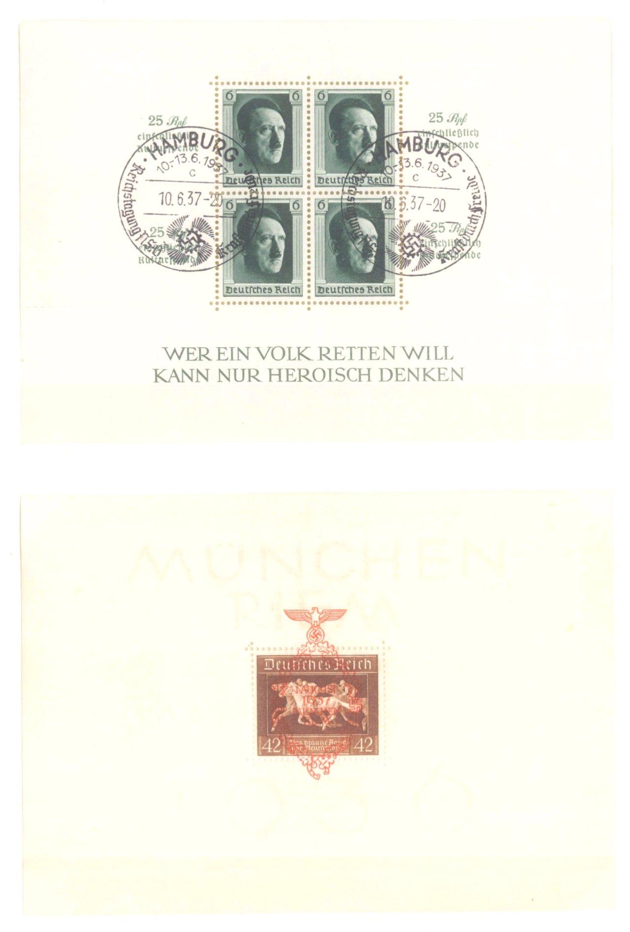 III. REICH 1934 bis 1945, mit OSTROPA – Block-16