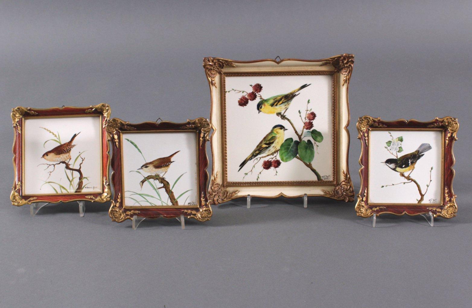 Rosenthal Wandbilder, 4 Stück