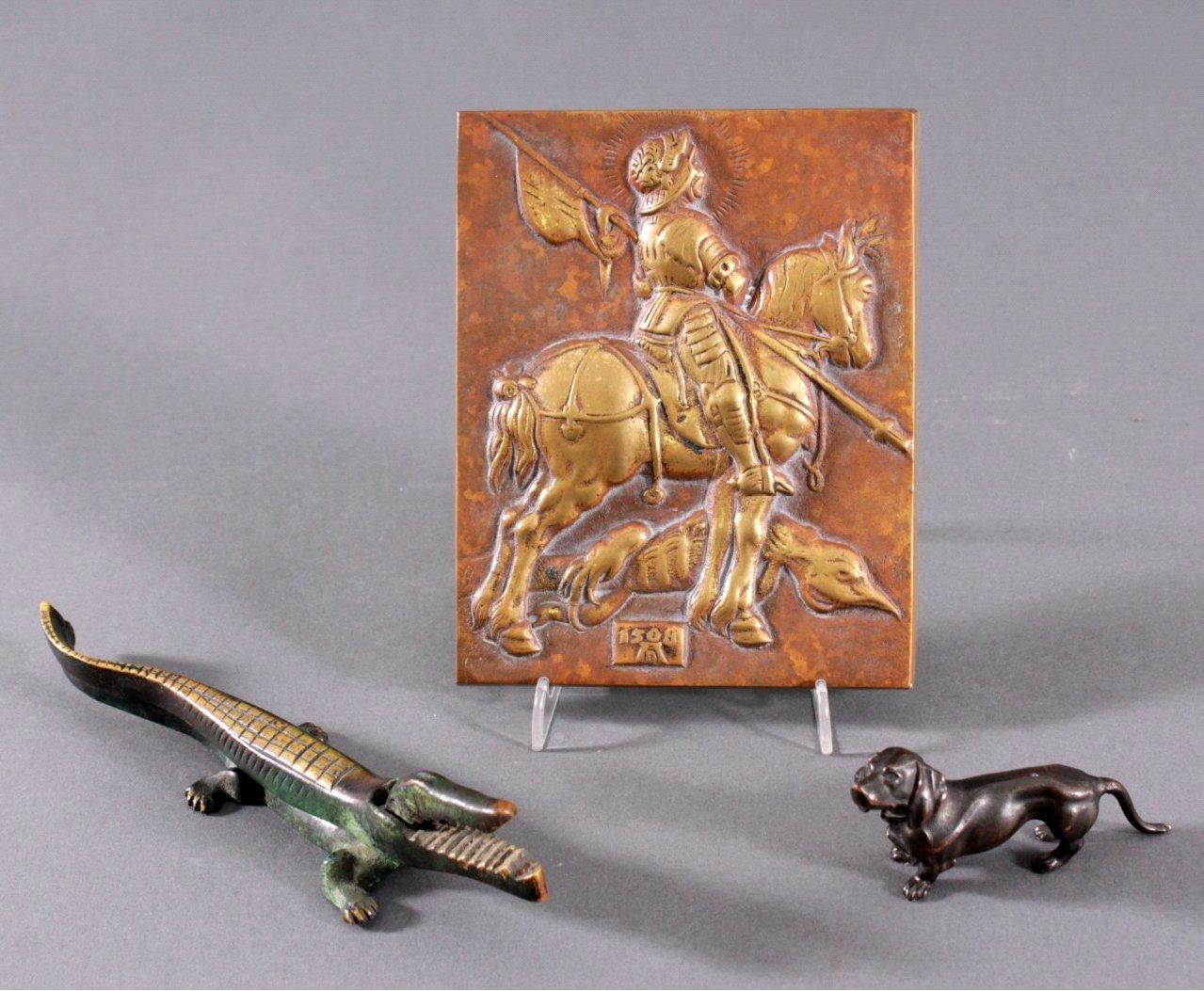3 Teile Bronze