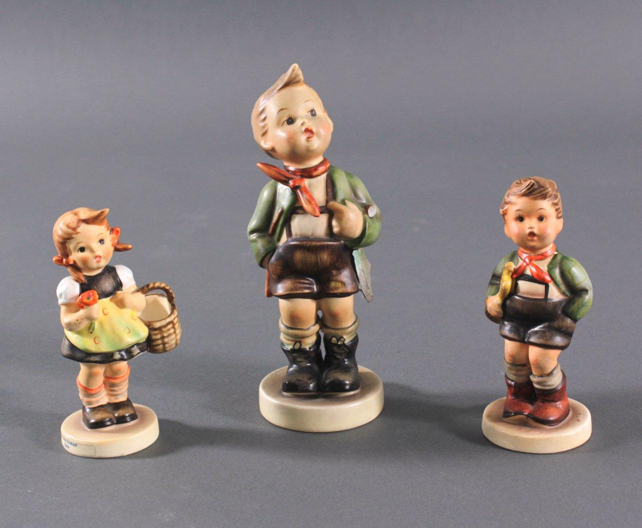 3 Hummelfiguren